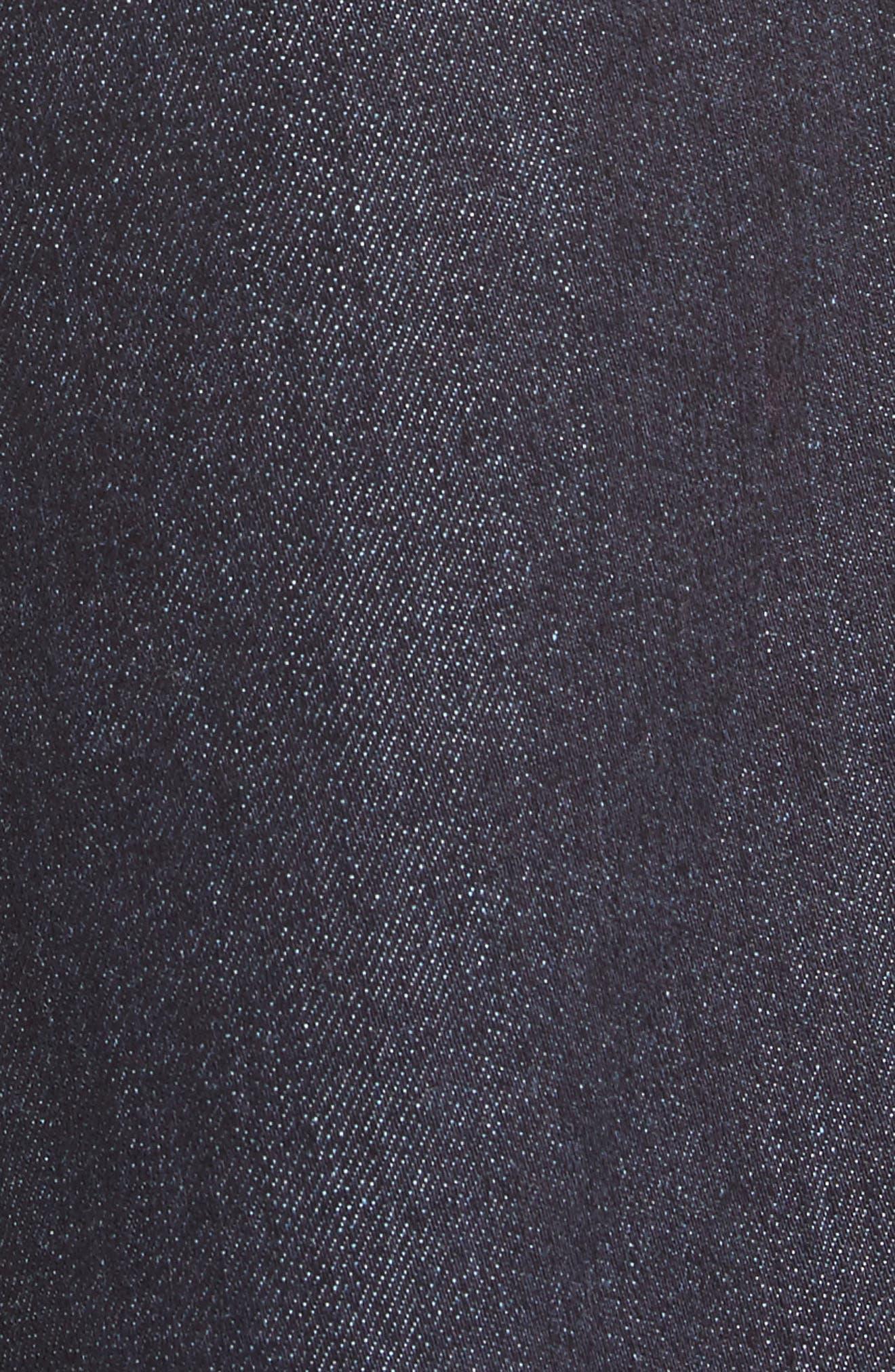 Sam High Waist Culotte Jeans,                             Alternate thumbnail 5, color,                             401