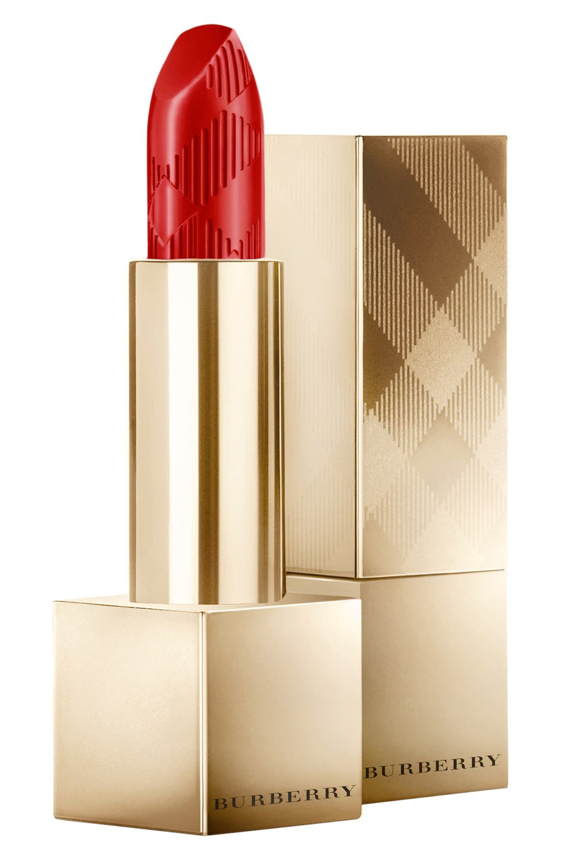 BURBERRY BEAUTY,                             Burberry Beauty 'Burberry Kisses - Gold' Lipstick,                             Main thumbnail 1, color,                             600