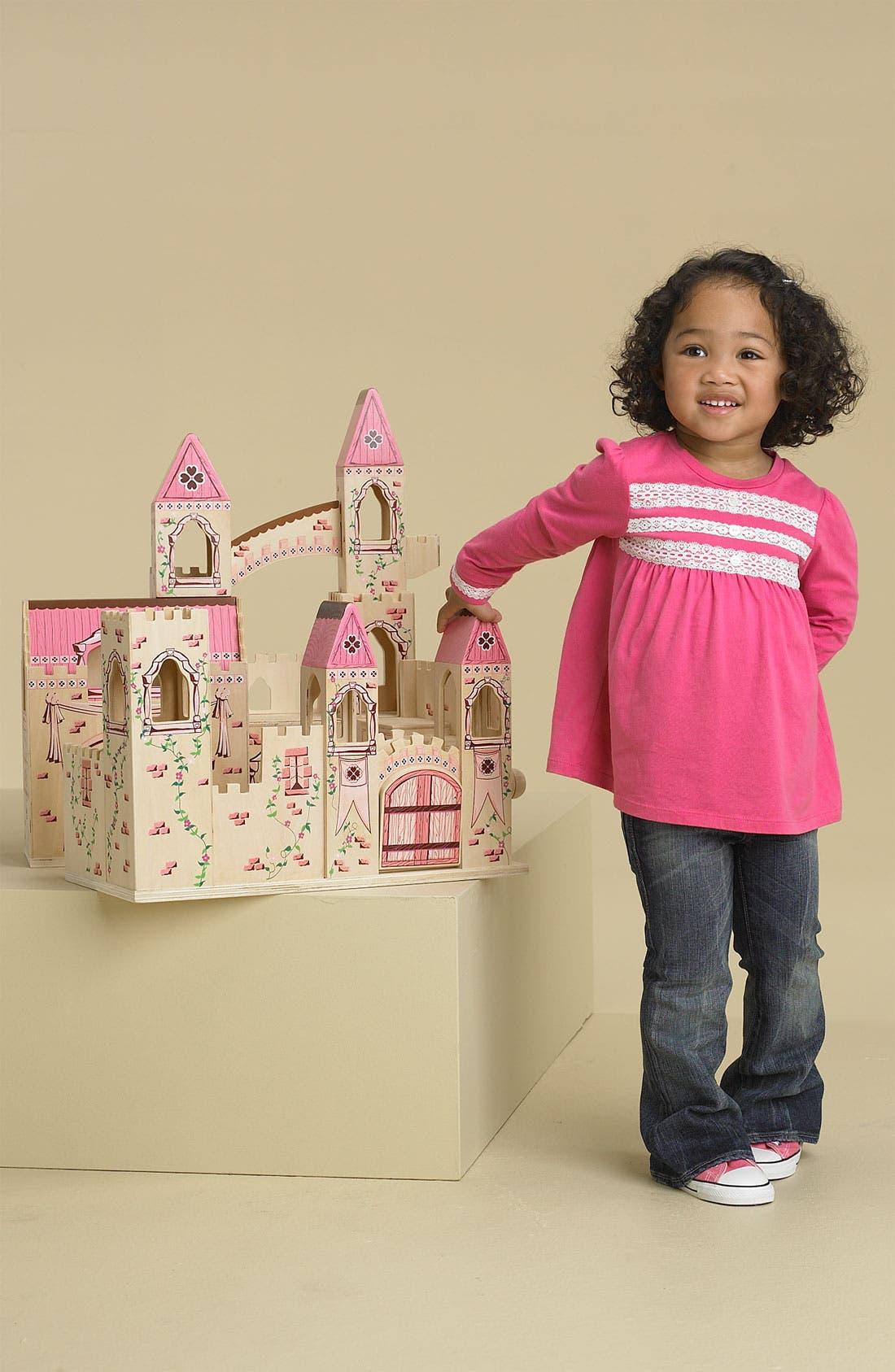 Wood Play Castle,                             Alternate thumbnail 3, color,