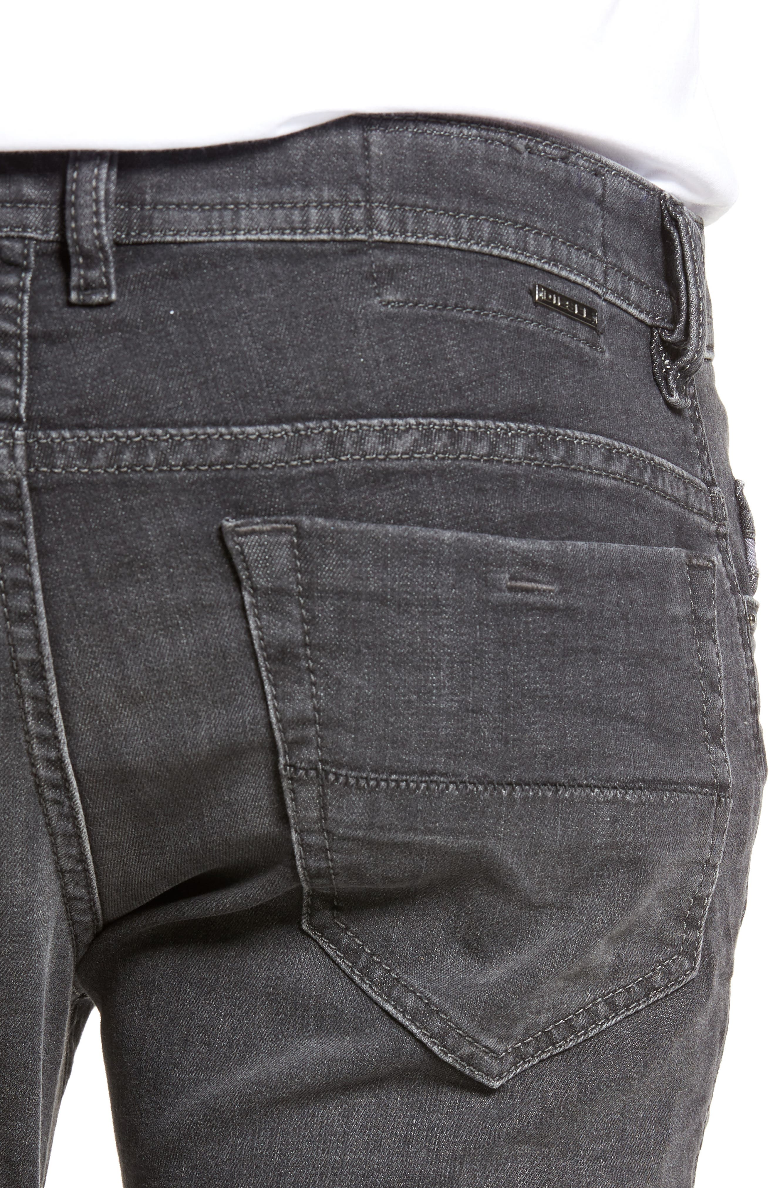 Thommer Slim Fit Jeans,                             Alternate thumbnail 4, color,                             001
