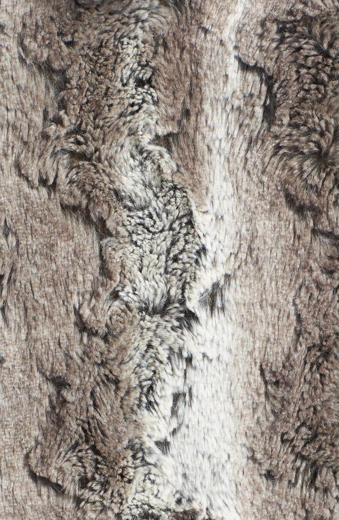 Reversible Hooded Faux Fur Vest,                             Alternate thumbnail 2, color,                             032