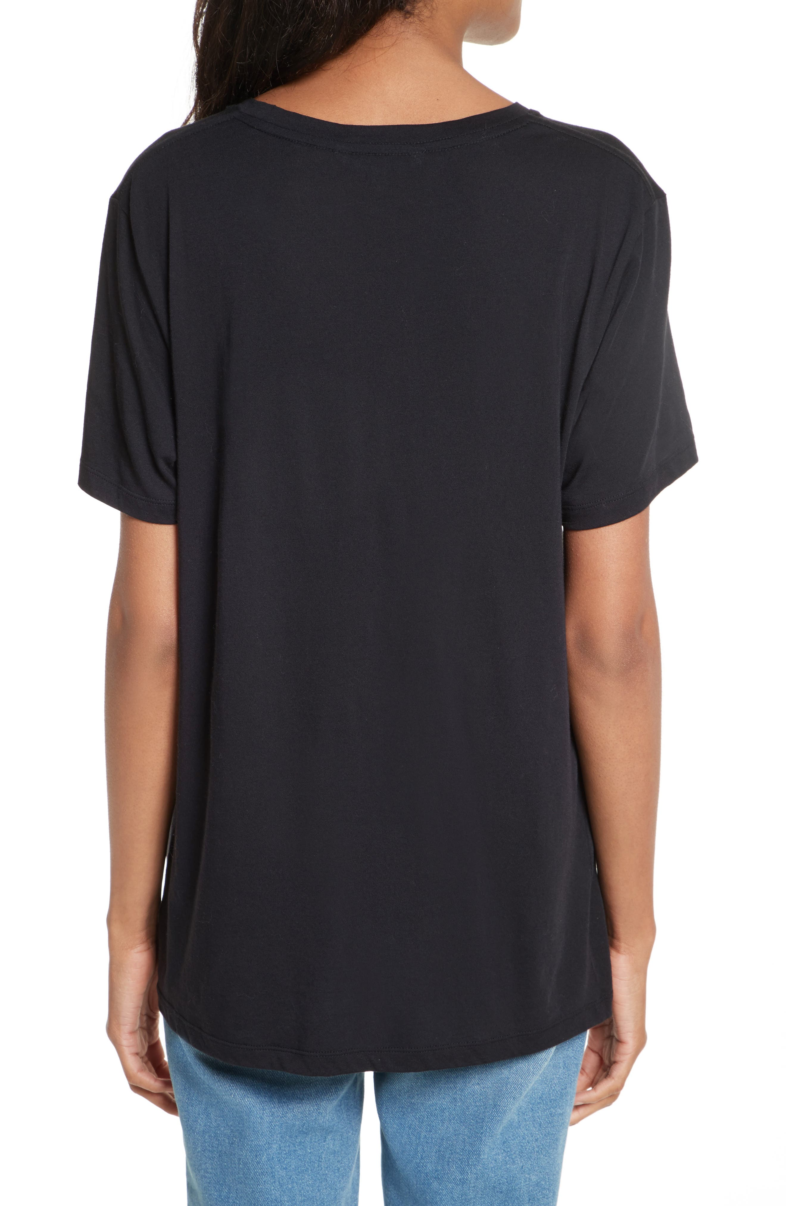 Delaney Graphic Tee,                             Alternate thumbnail 2, color,                             001
