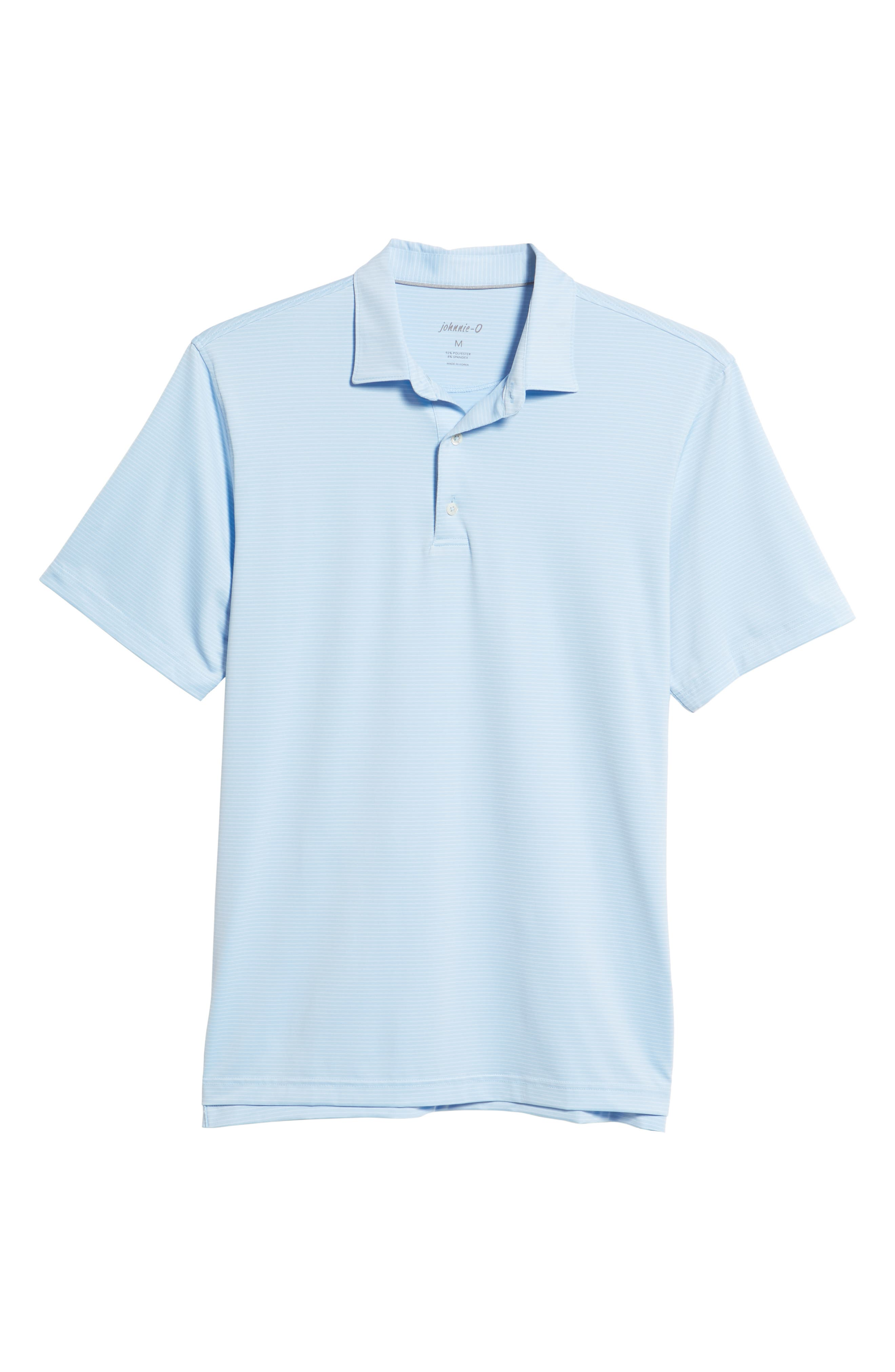 Albatross Regular Fit Stripe Prep-Formance Polo,                             Alternate thumbnail 6, color,                             GULF BLUE
