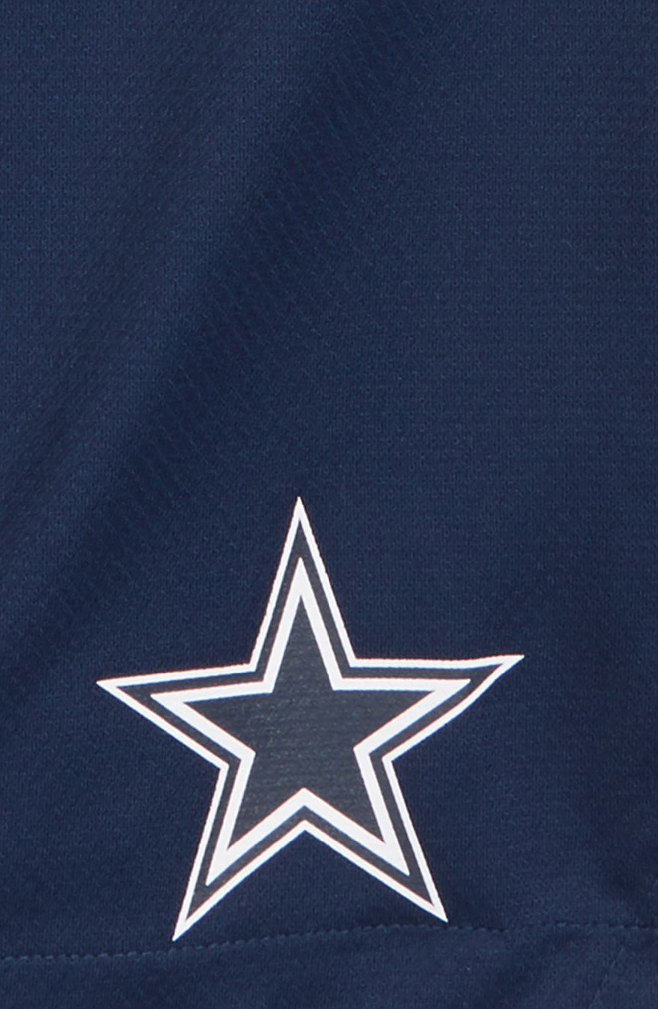 Nike NFL Dallas Cowboys Dry Knit Shorts,                             Alternate thumbnail 2, color,                             NAVY