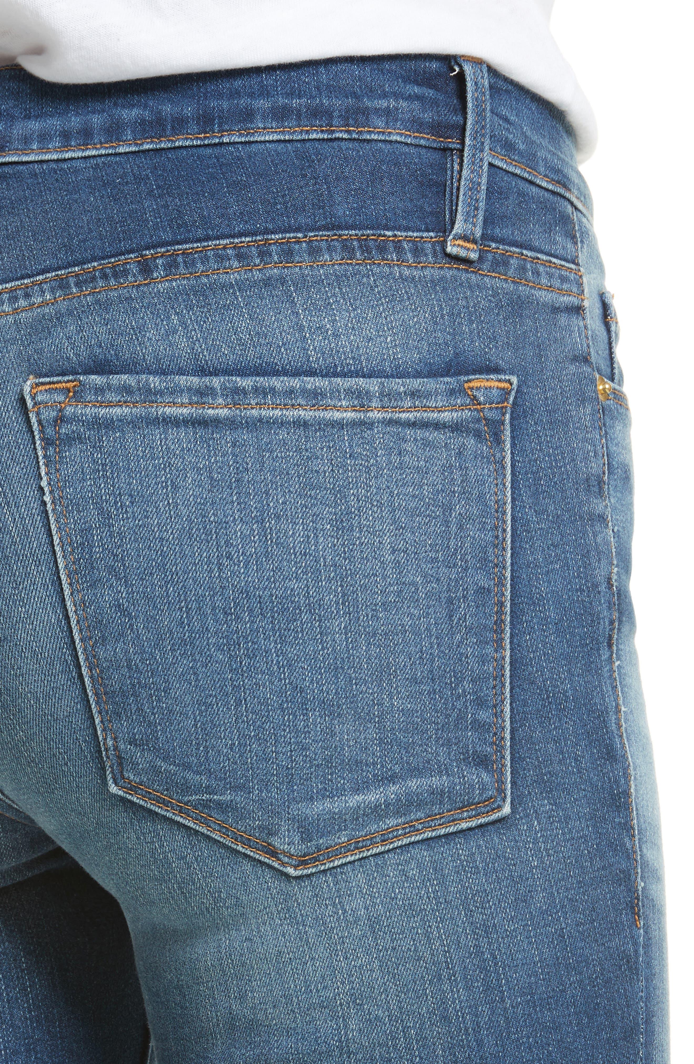 Le Skinny de Jeanne Jeans,                             Alternate thumbnail 4, color,                             420