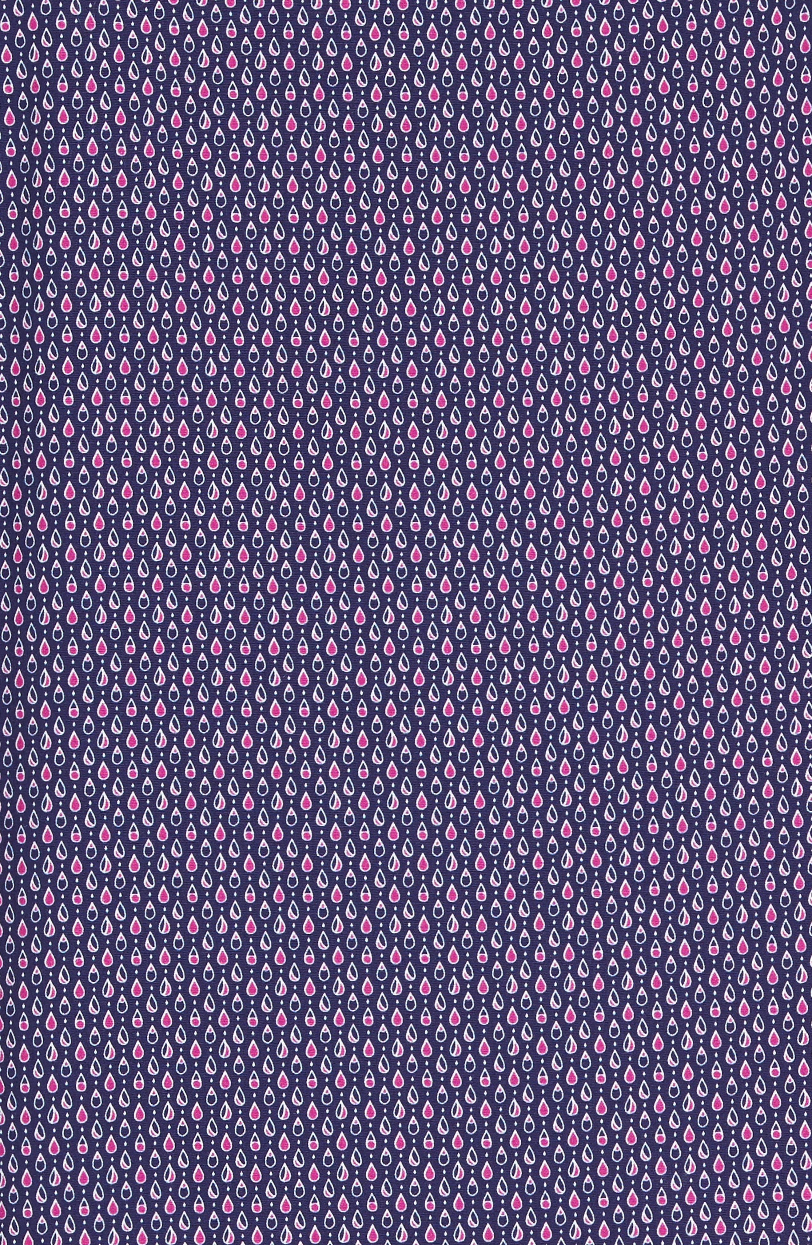 Slim Fit Teardrop Print Sport Shirt,                             Alternate thumbnail 5, color,                             500