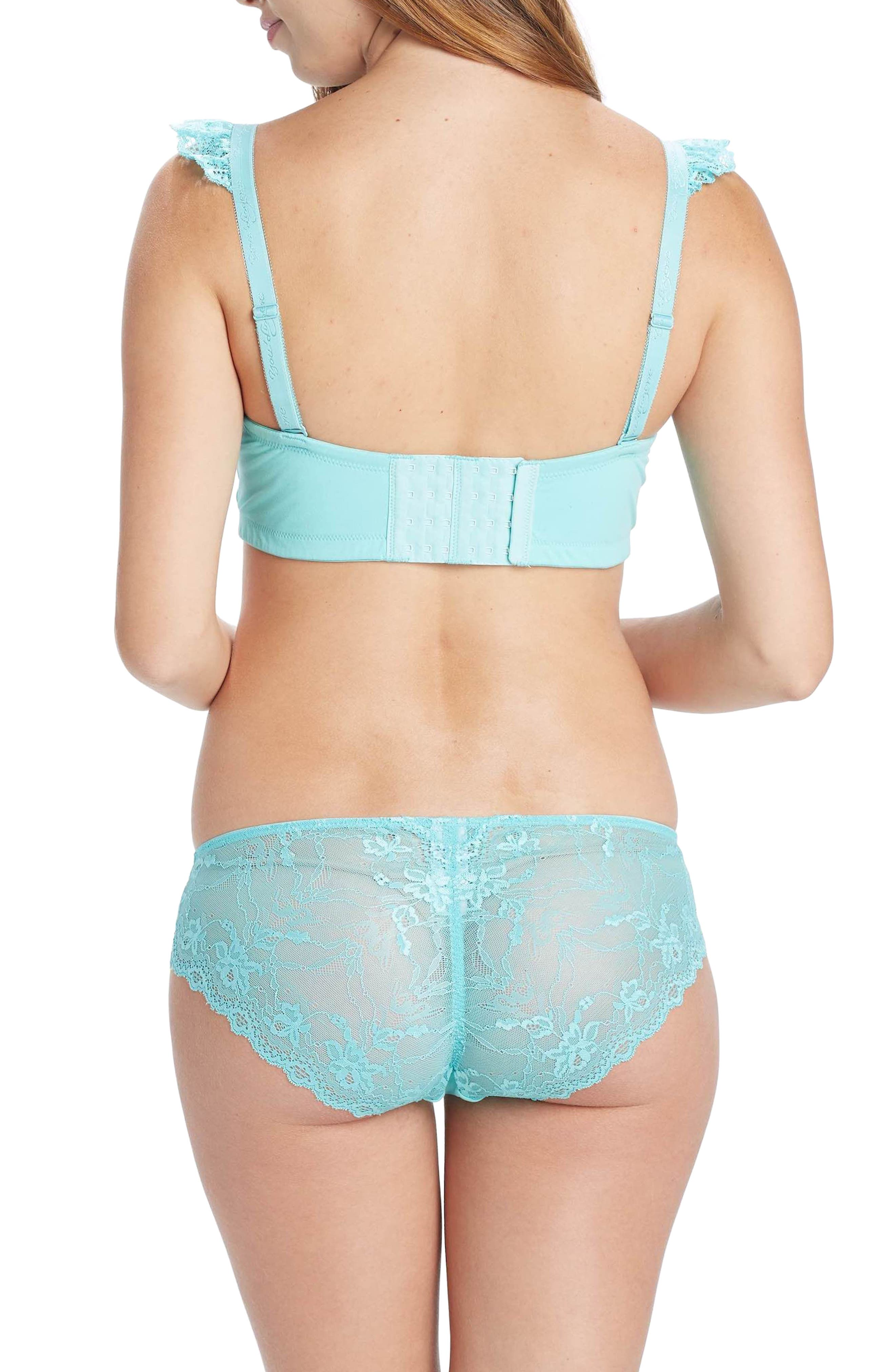 Lark Wireless Maternity/Nursing Bra,                             Alternate thumbnail 2, color,                             TURQUOISE/ AQUA