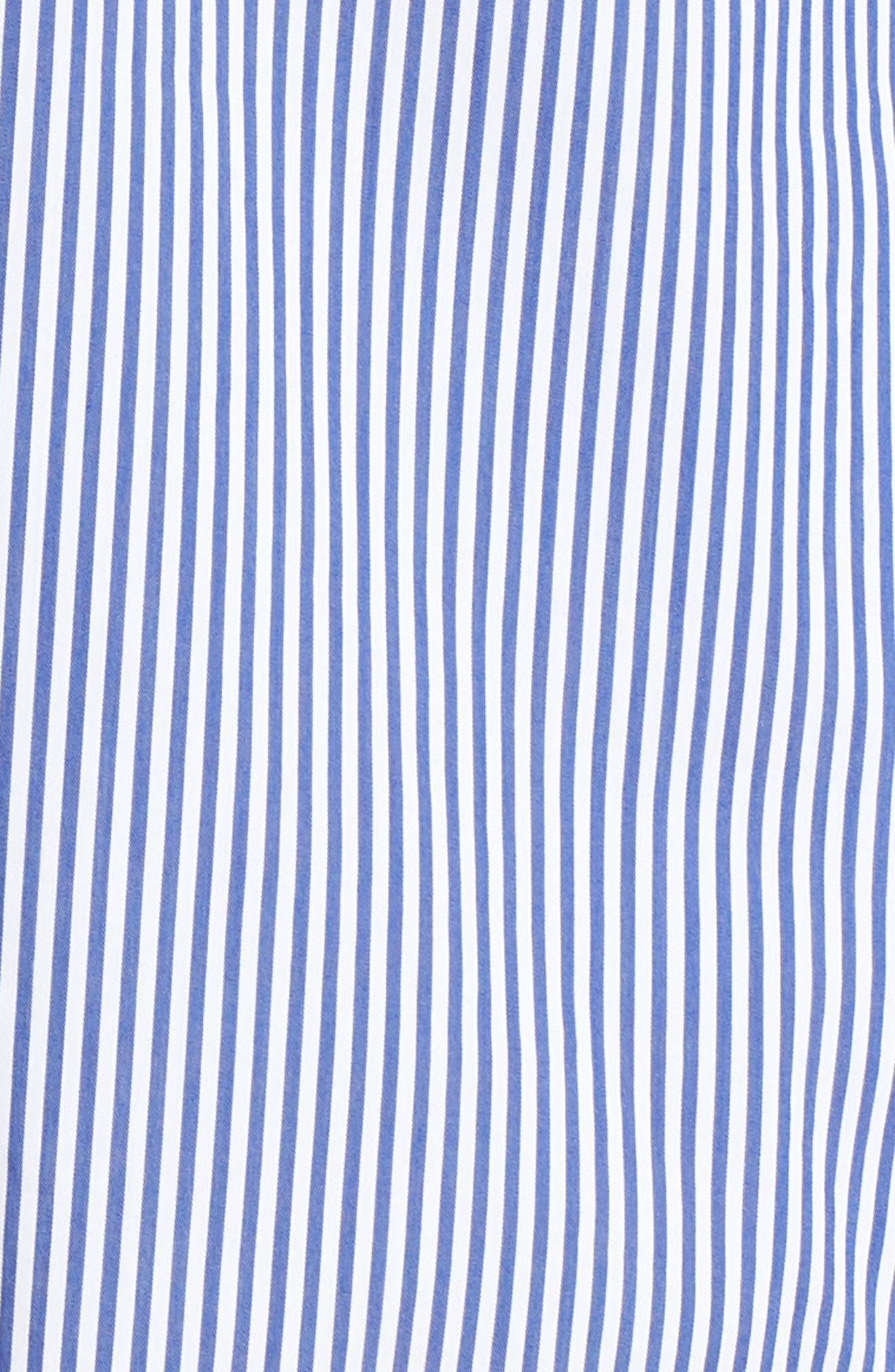 Cinch Sleeve V-Neck Top,                             Alternate thumbnail 10, color,