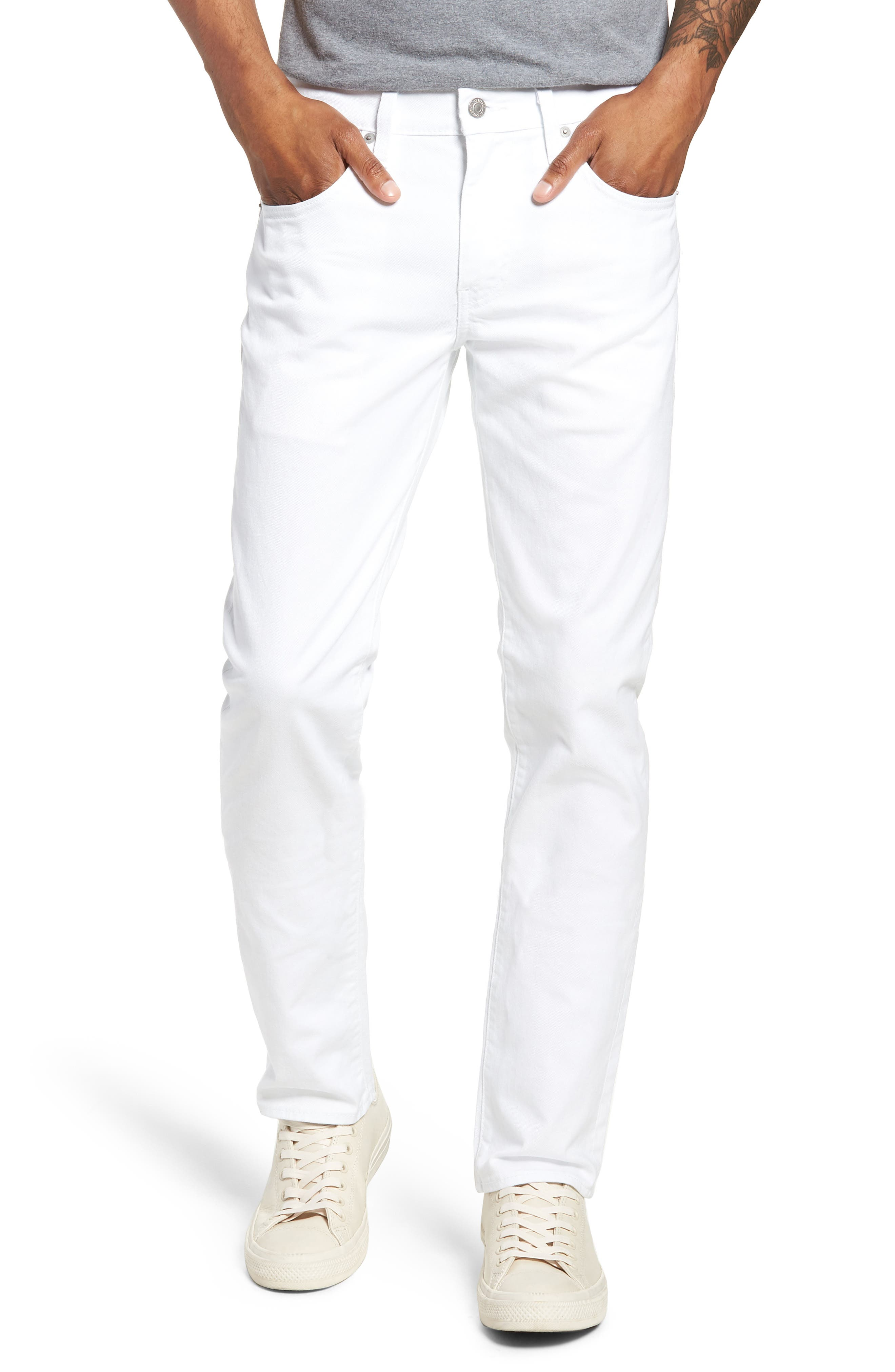 511<sup>™</sup> Slim Fit Jeans,                             Main thumbnail 1, color,                             WHITE BULL DENIM II