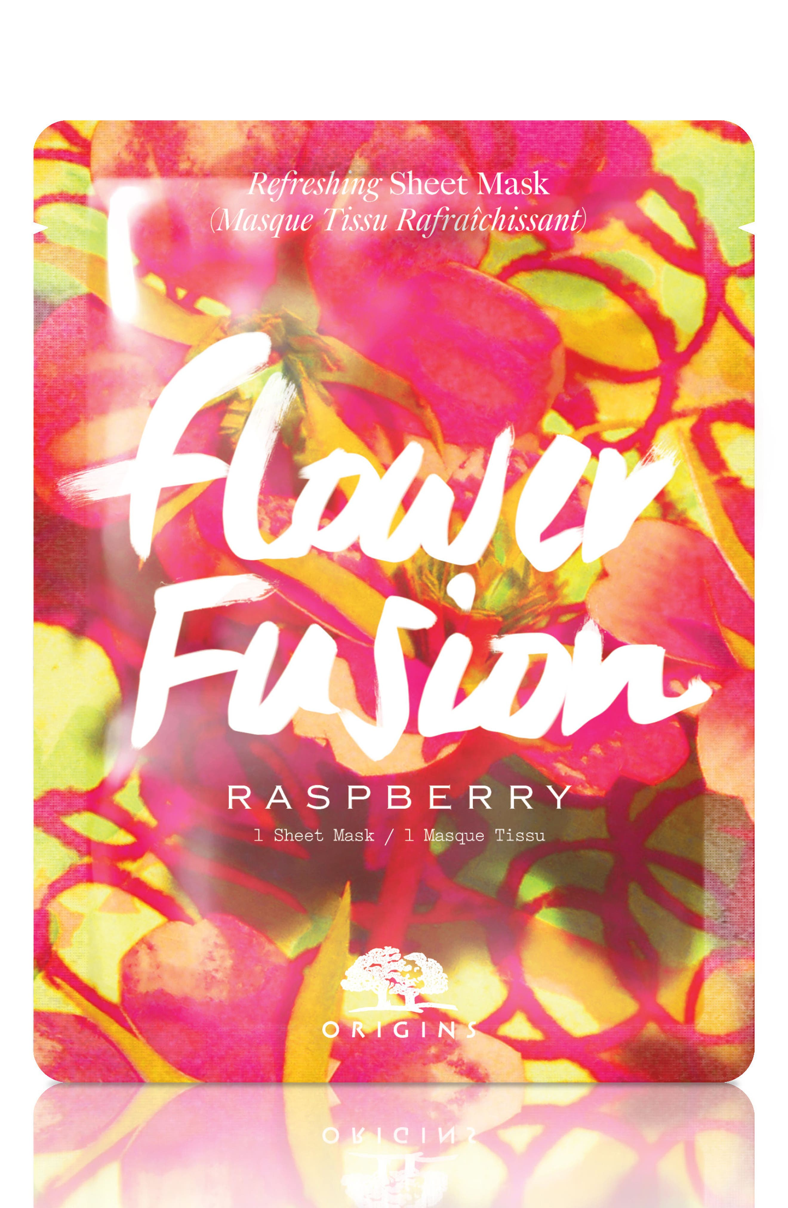 Flower Fusion Hydrating Sheet Mask,                             Main thumbnail 5, color,