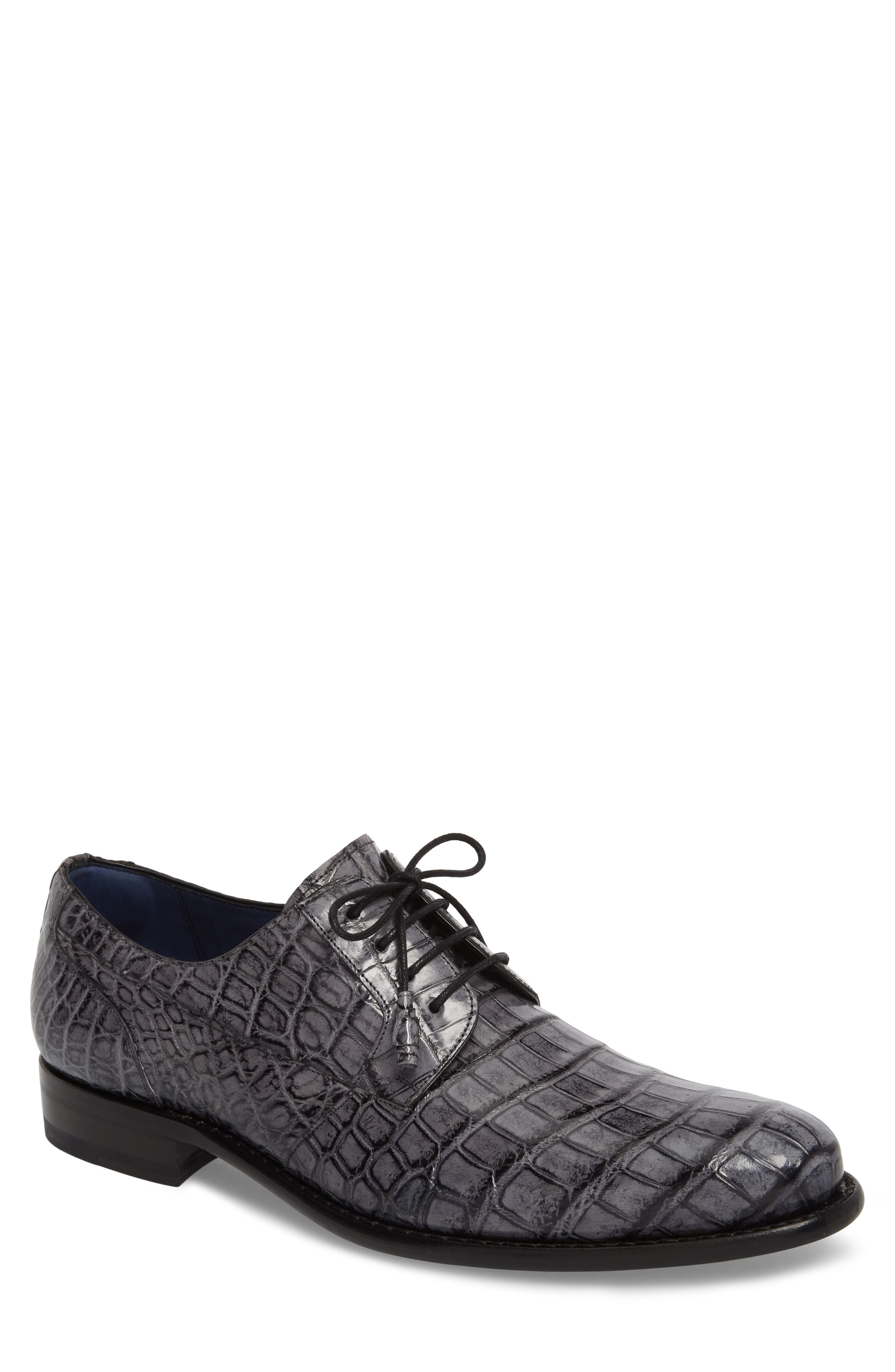 Hercules Plain Toe Derby,                             Main thumbnail 1, color,                             GREY