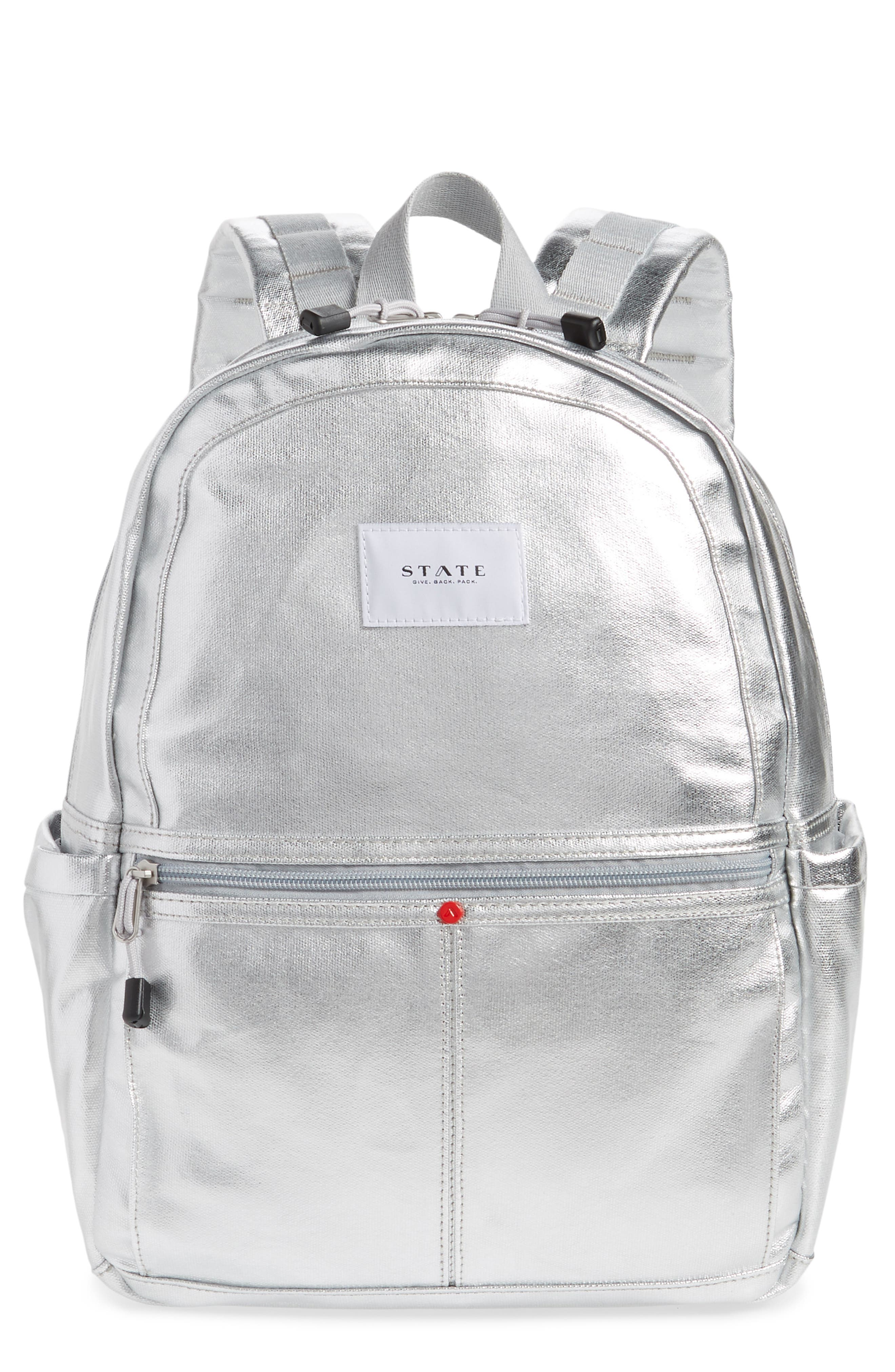 Downtown Kane Backpack,                         Main,                         color, SILVER MULTI