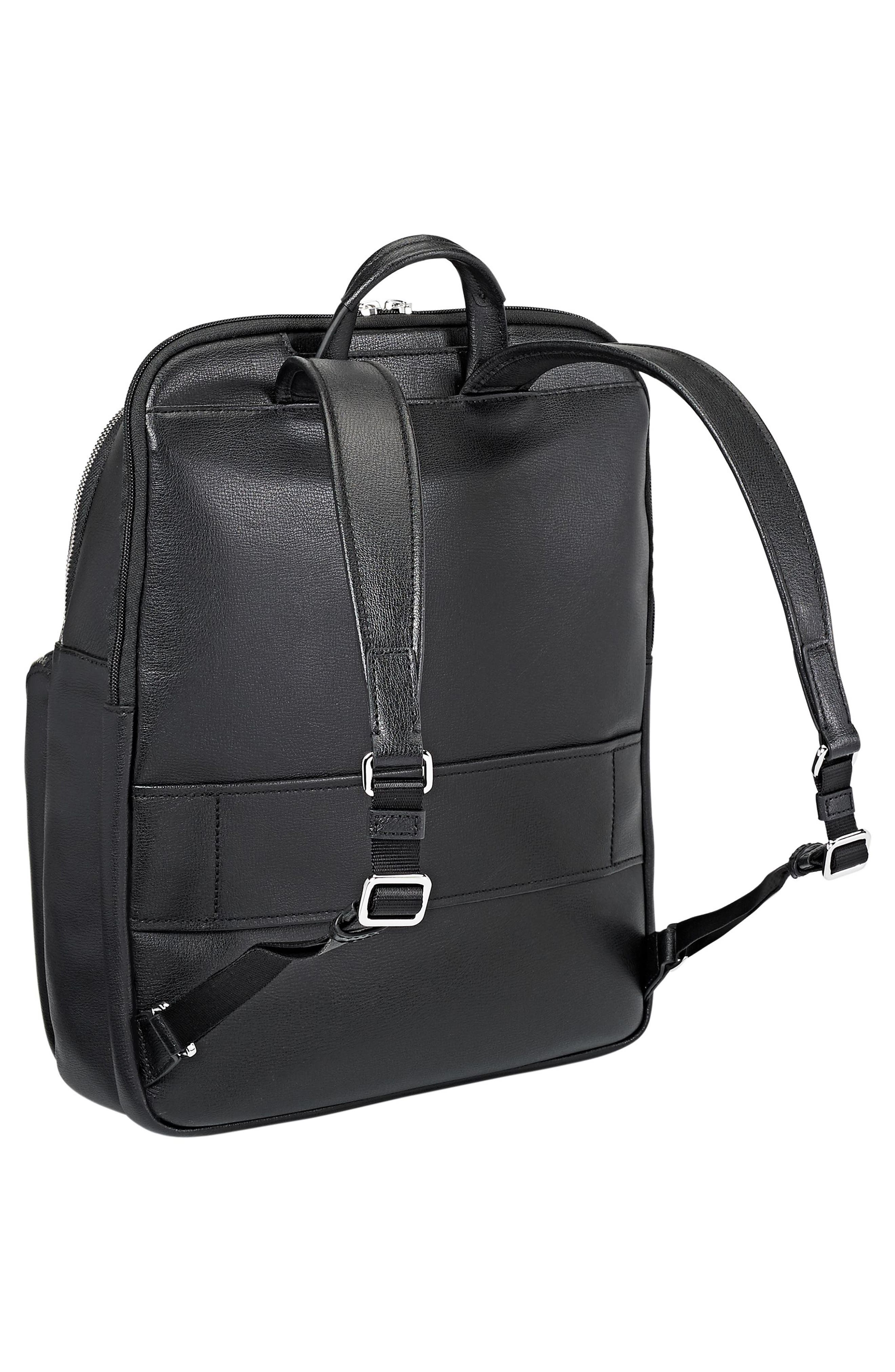 Stanton Hettie Leather Backpack,                             Alternate thumbnail 5, color,