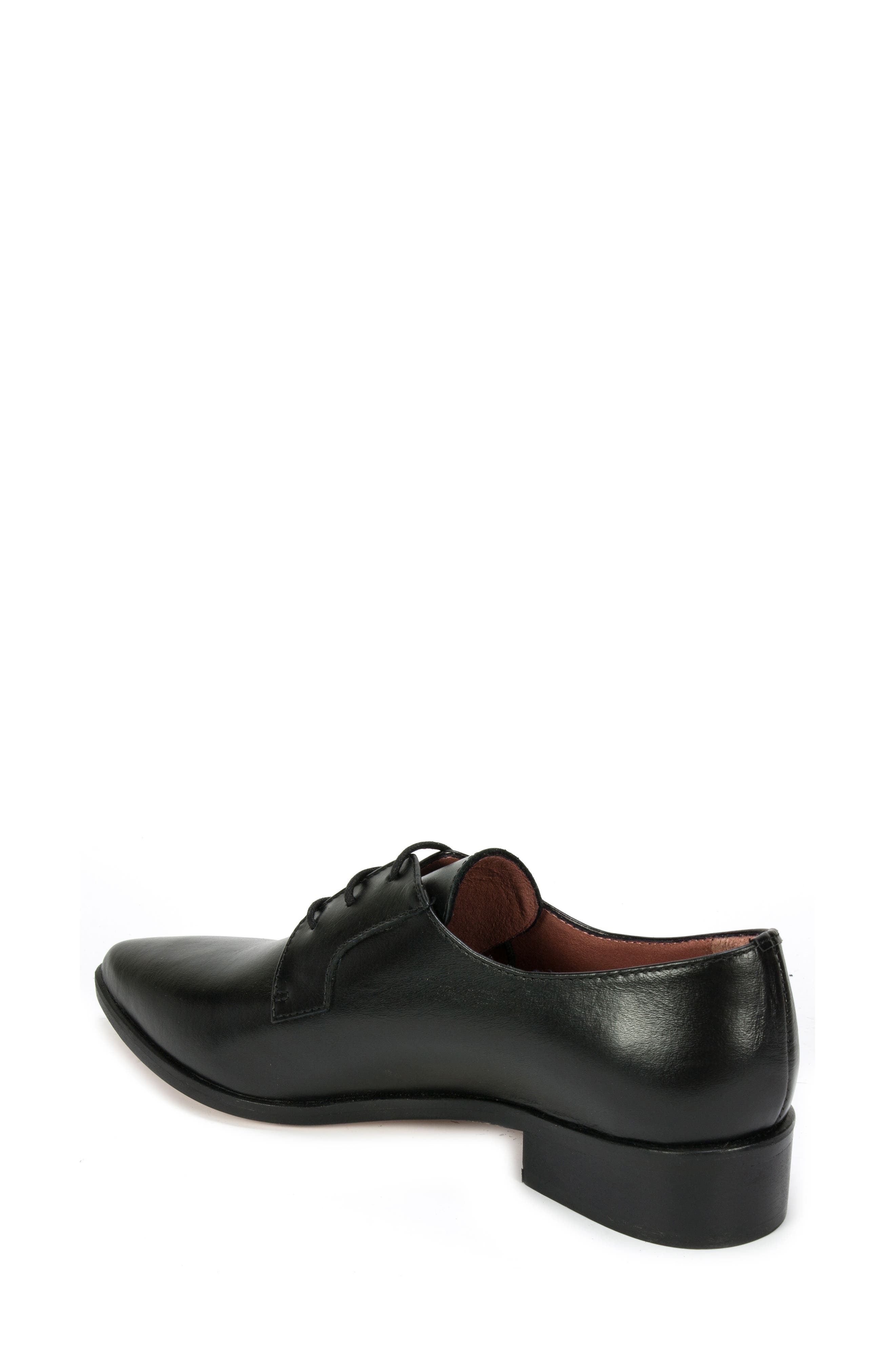 Summit Adrina Pointy Toe Oxford,                             Alternate thumbnail 2, color,                             001