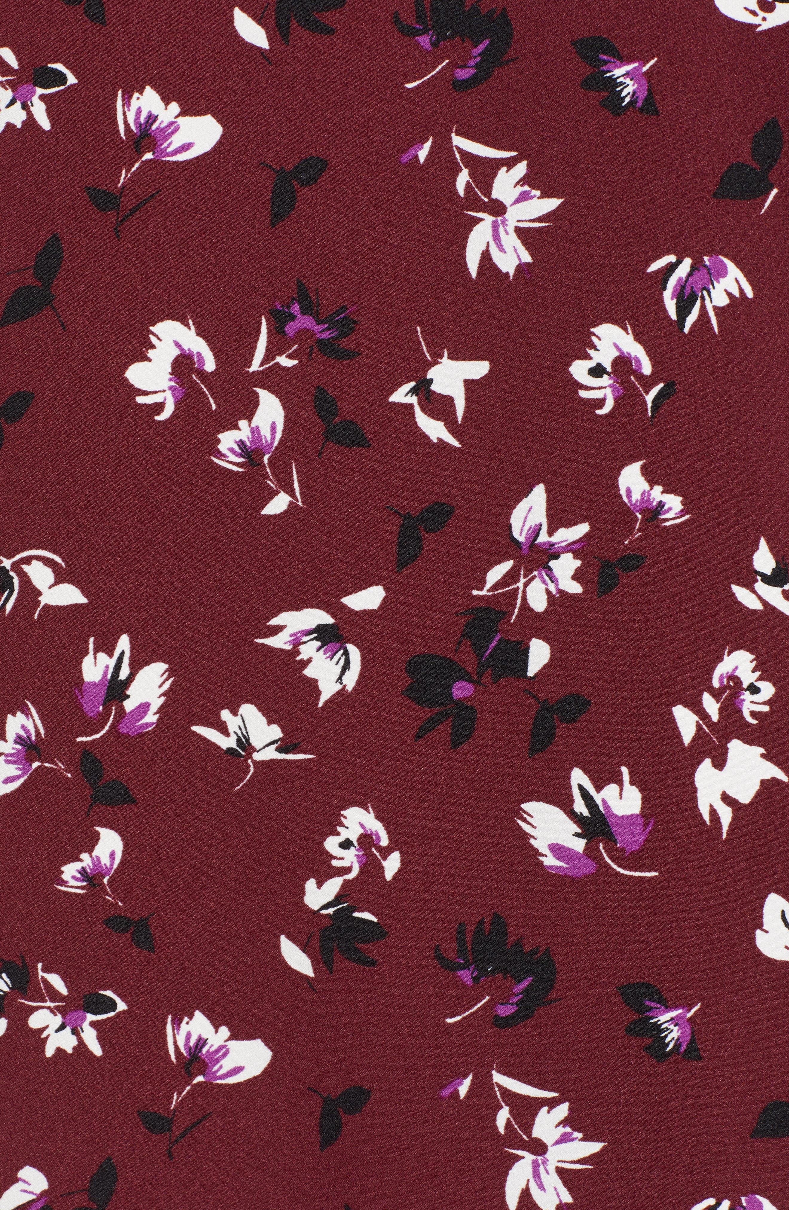 Button Back Ruffle Hem Dress,                             Alternate thumbnail 48, color,