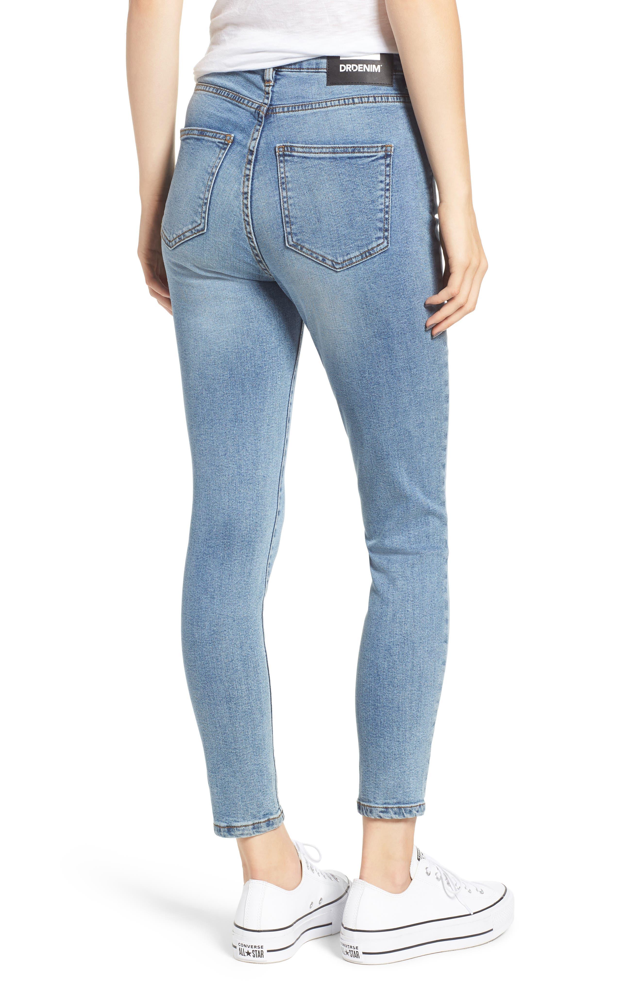 DR. DENIM SUPPLY CO.,                             Copacabana Crop Skinny Jeans,                             Alternate thumbnail 2, color,                             400