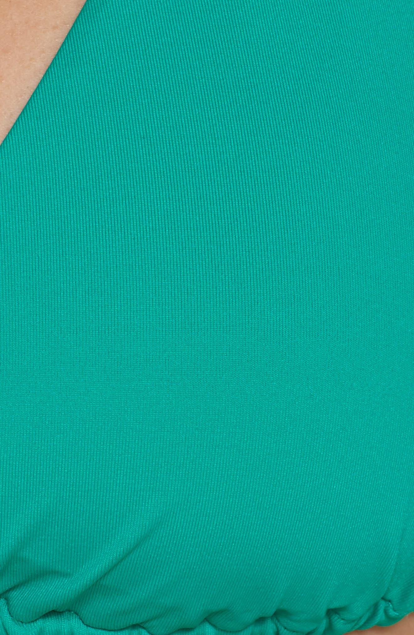 BECCA,                             Color Code Triangle Bikini Top,                             Alternate thumbnail 6, color,                             300
