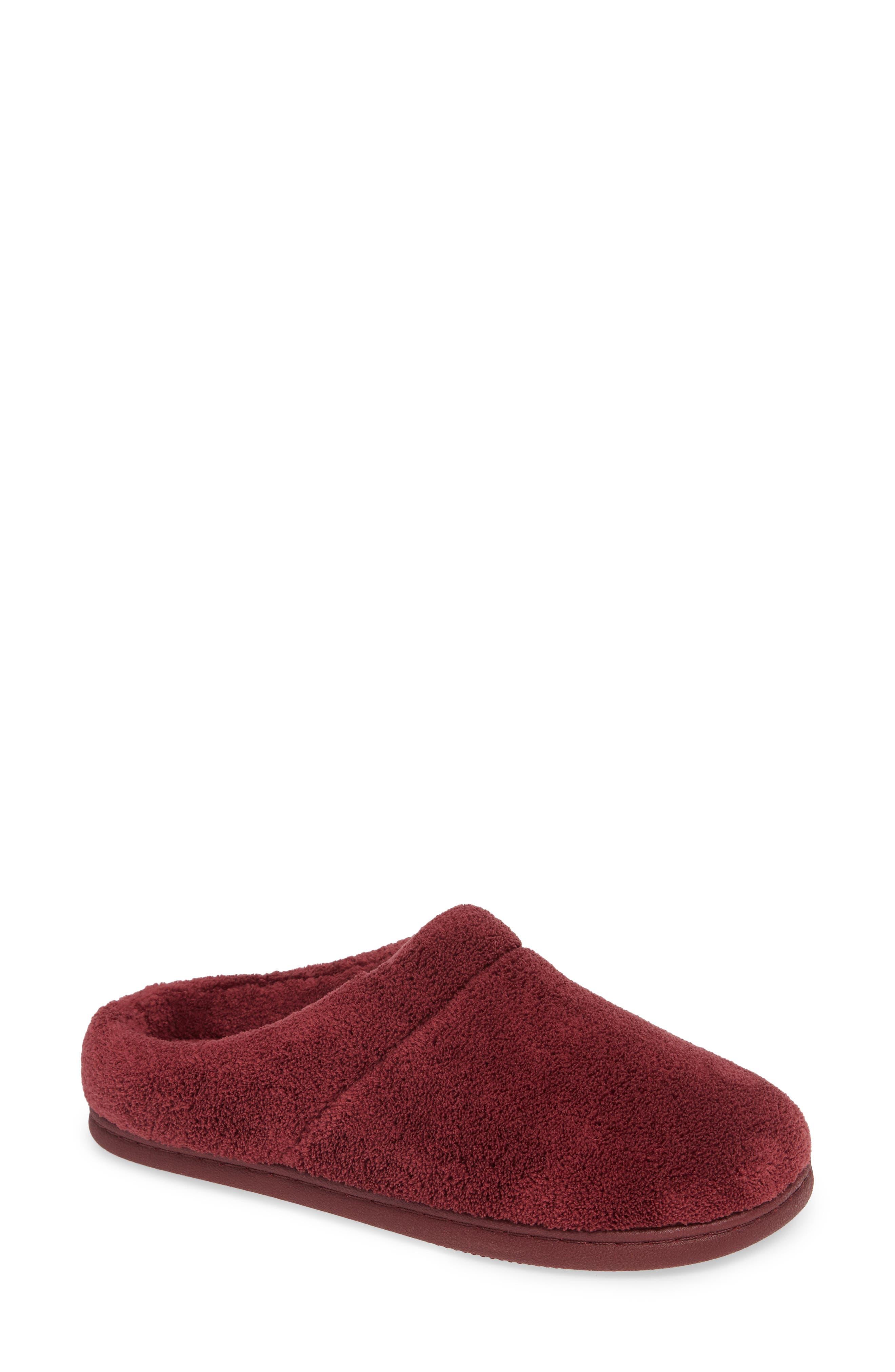 'Windsock' Slipper,                         Main,                         color, BURGUNDY