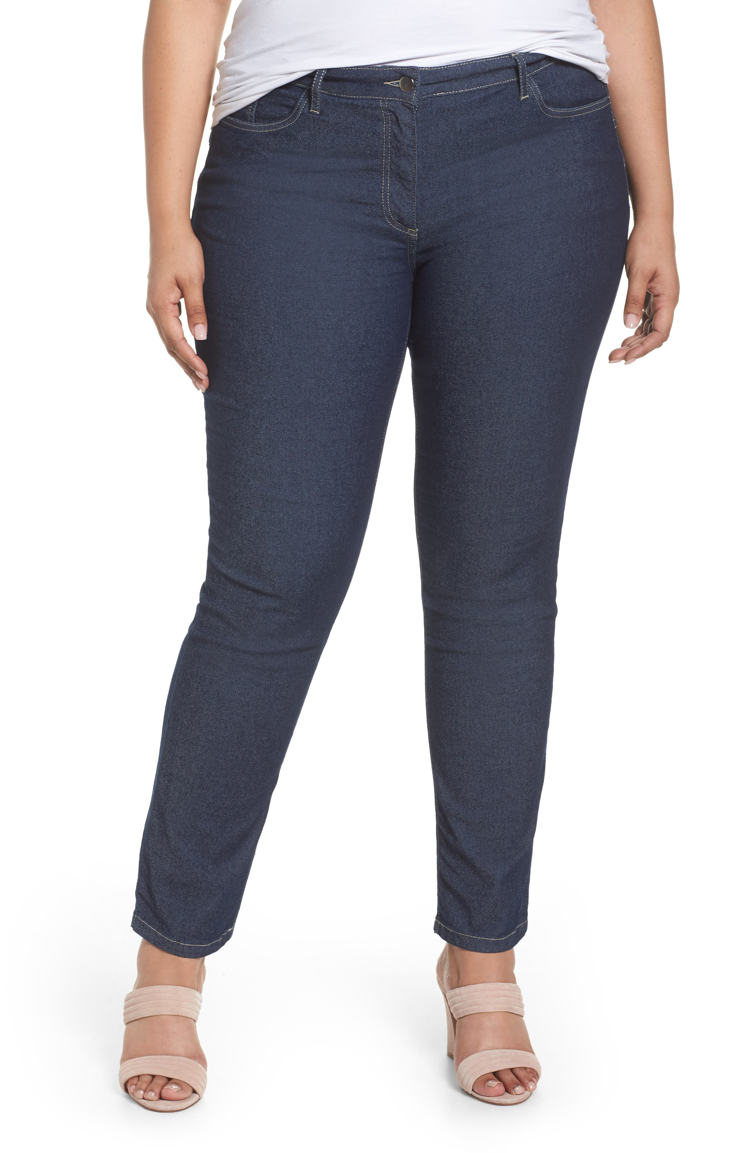 Straight Leg Jeans,                         Main,                         color, 411