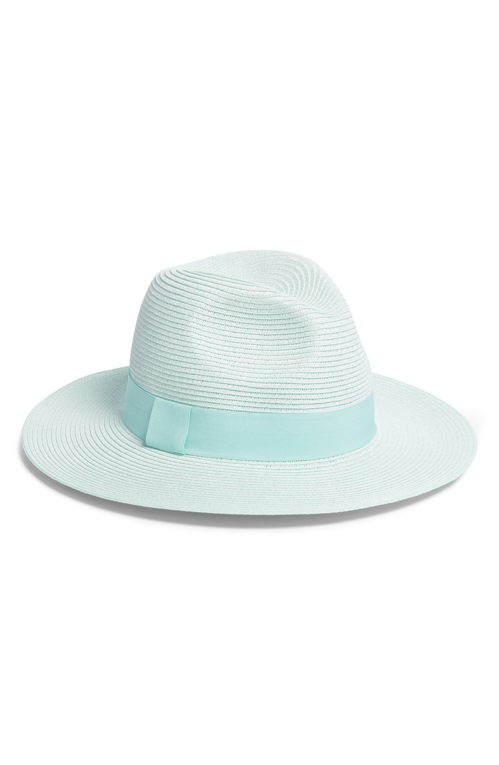Something Navy Woven Panama Hat (Nordstrom Exclusive)  84f3ff237c8