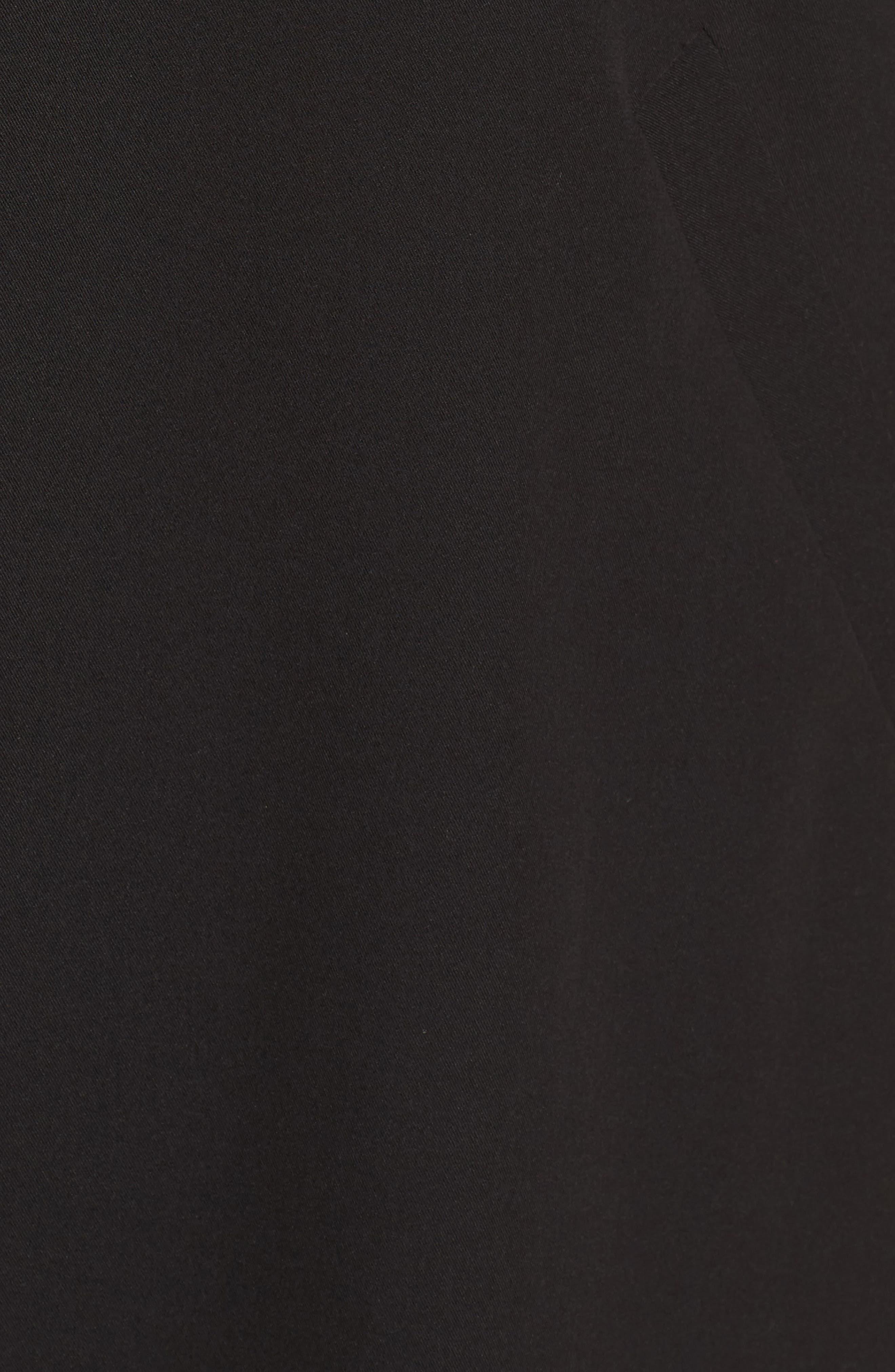 Open Front Longline Vest,                             Alternate thumbnail 6, color,                             001