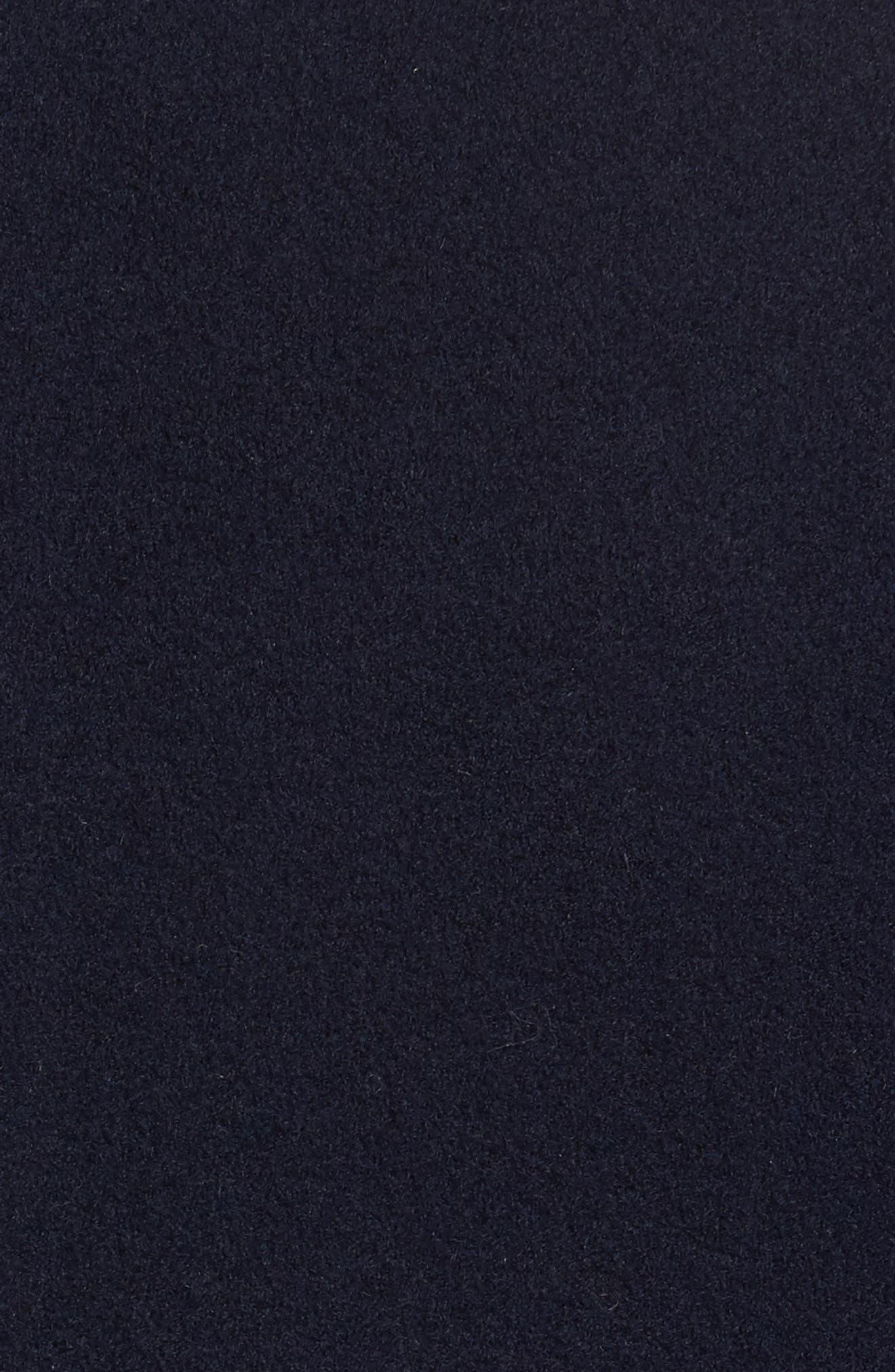 Double Breasted Loro Piana Wool Coat,                             Alternate thumbnail 6, color,                             004
