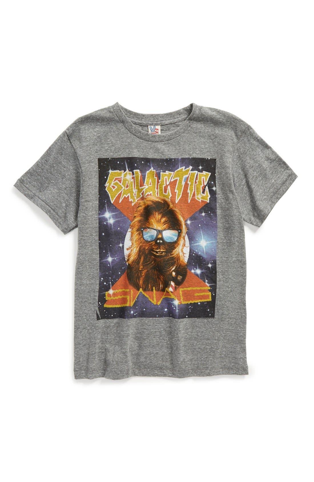 'Star Wars<sup>™</sup> - Galactic Swag' Graphic T-Shirt,                             Main thumbnail 1, color,                             031