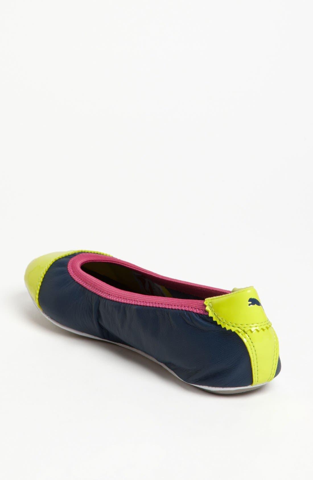 'Kitara' Cap Toe Ballet Flat,                             Alternate thumbnail 16, color,