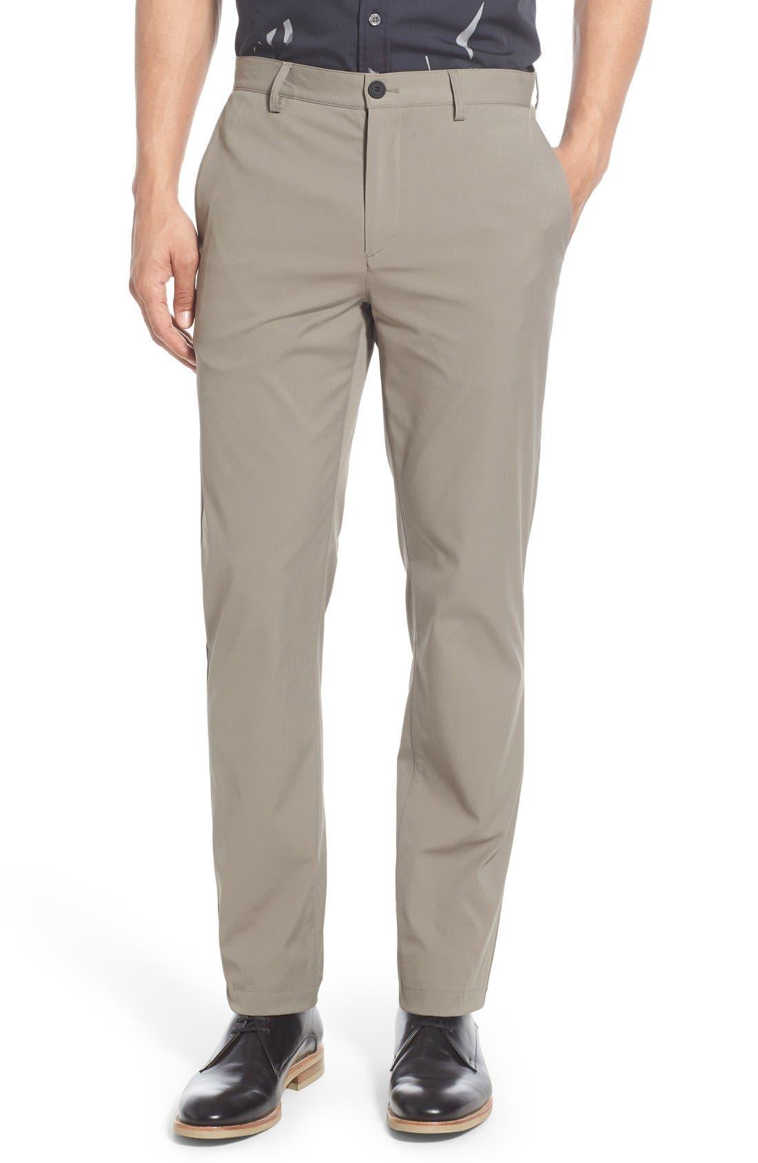 'Zaine Neoteric' Slim Fit Pants,                             Main thumbnail 1, color,                             SIDEWALK