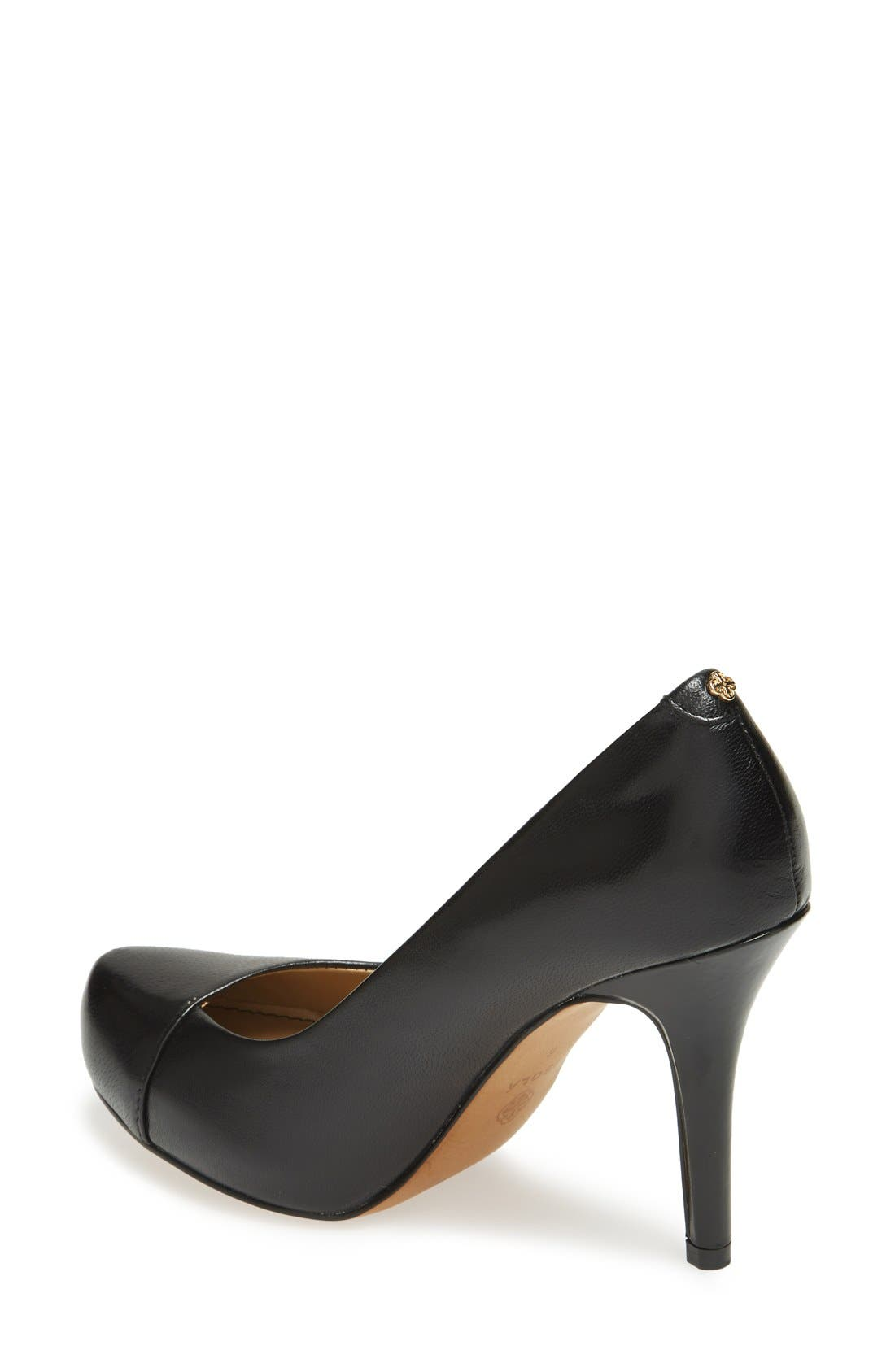 'Cagney' Platform Pump,                             Alternate thumbnail 4, color,                             001