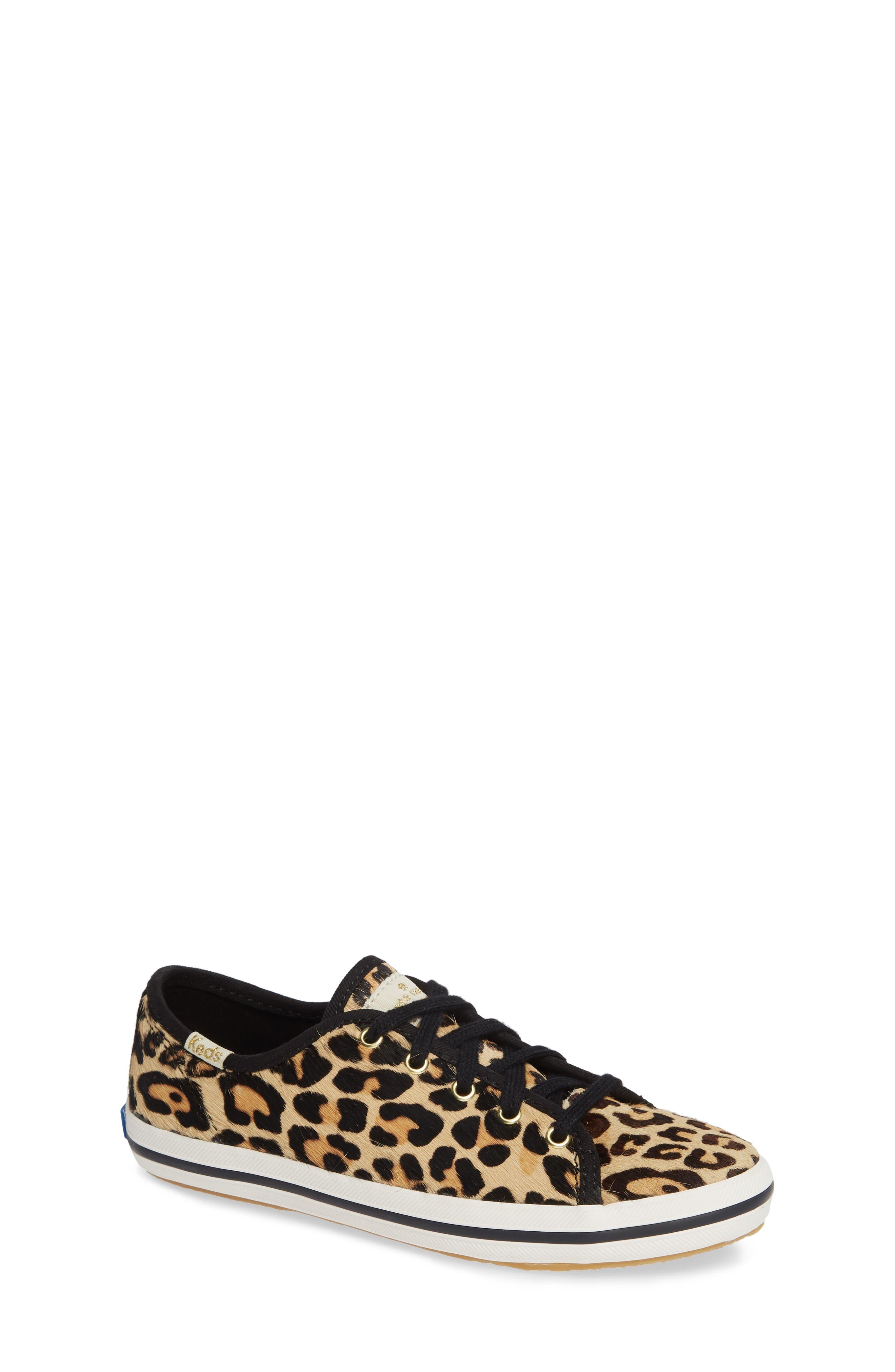for kate spade new york kickstart genuine calf hair sneaker,                         Main,                         color, PRINTED PONY
