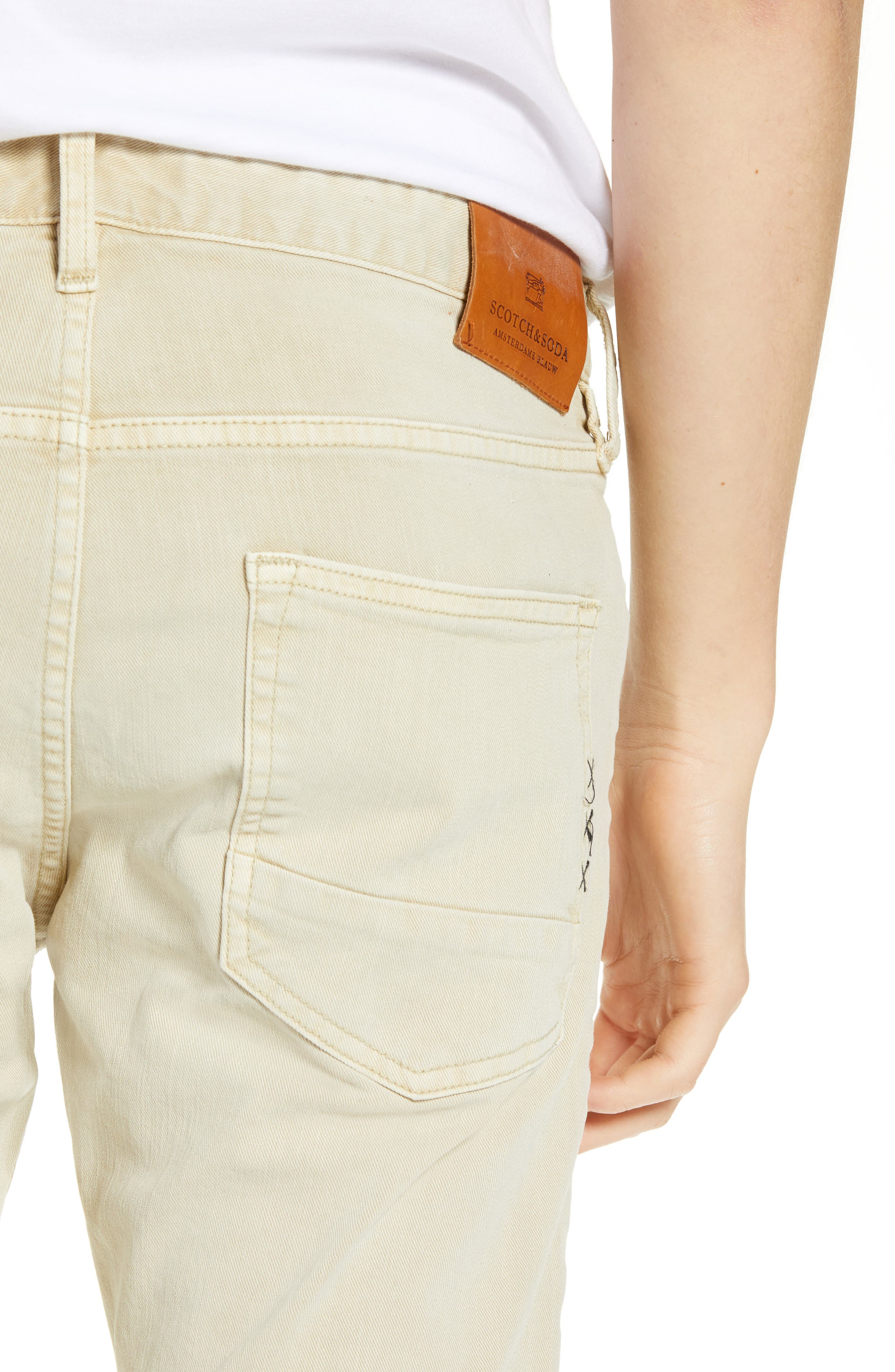 Ralston Slim Fit Pants,                             Alternate thumbnail 4, color,                             SAND