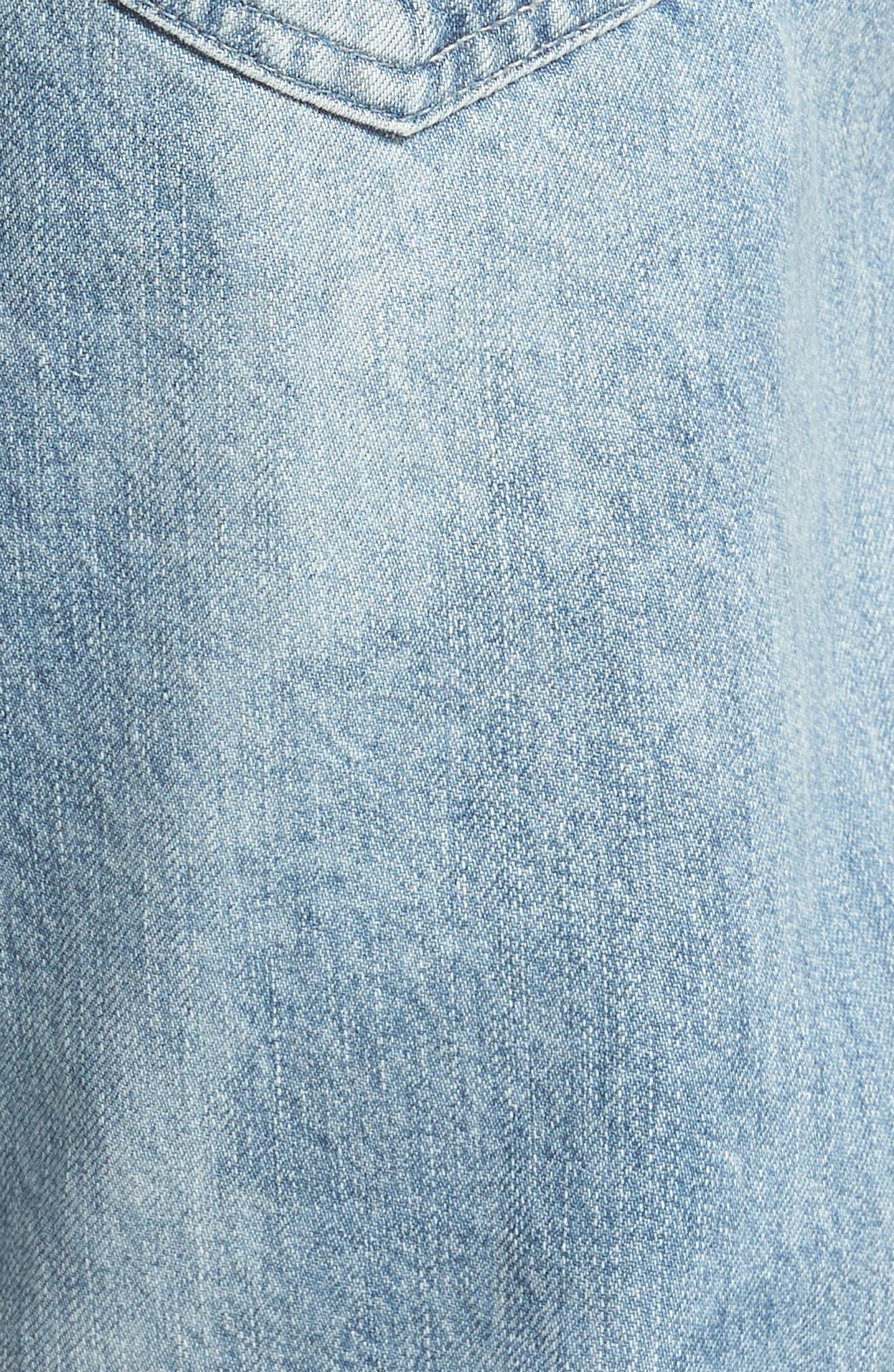 Tellis Slim Fit Jeans,                             Alternate thumbnail 5, color,                             461