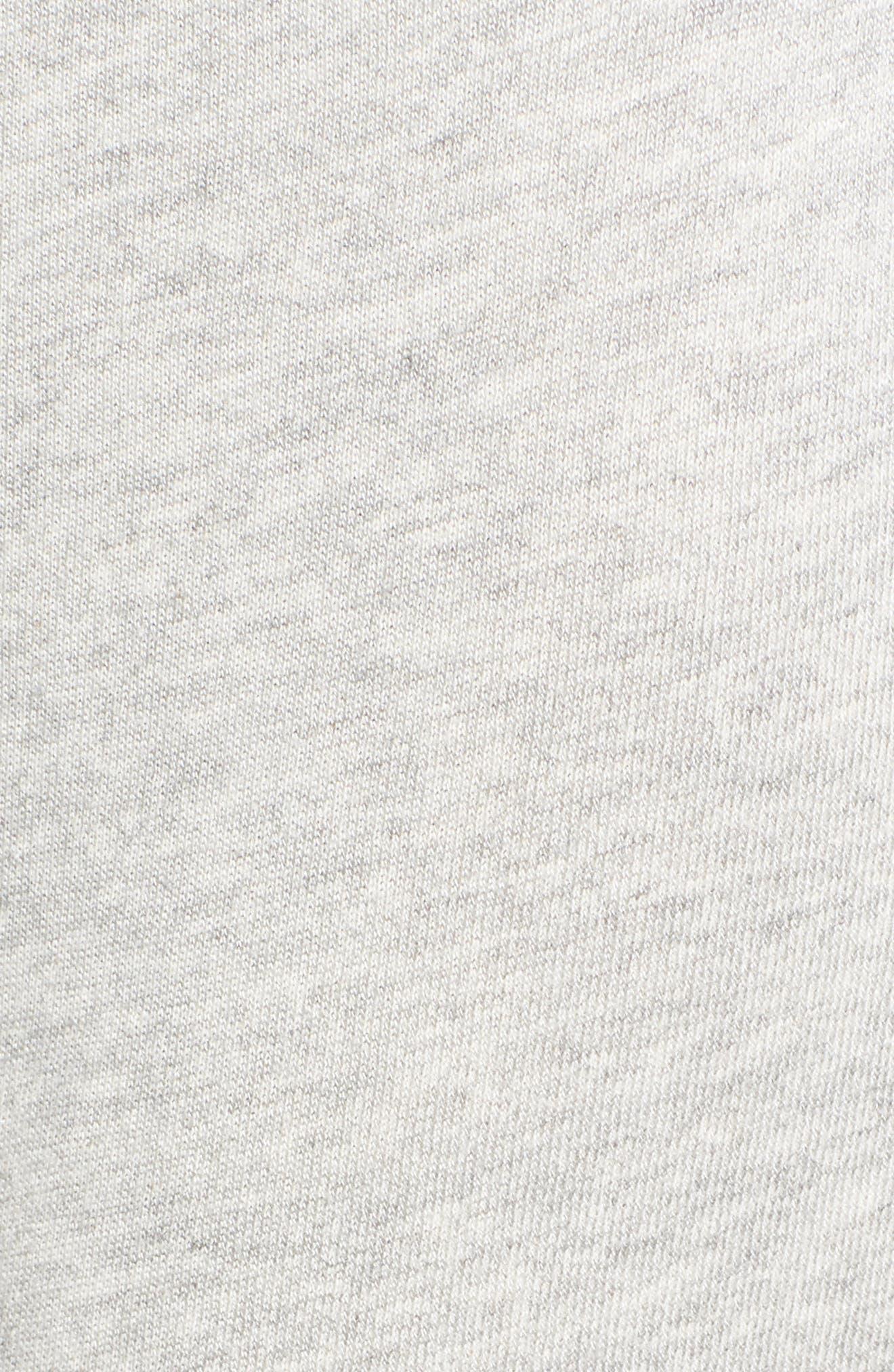 Isla High Waist Crop Sweatpants,                             Alternate thumbnail 5, color,