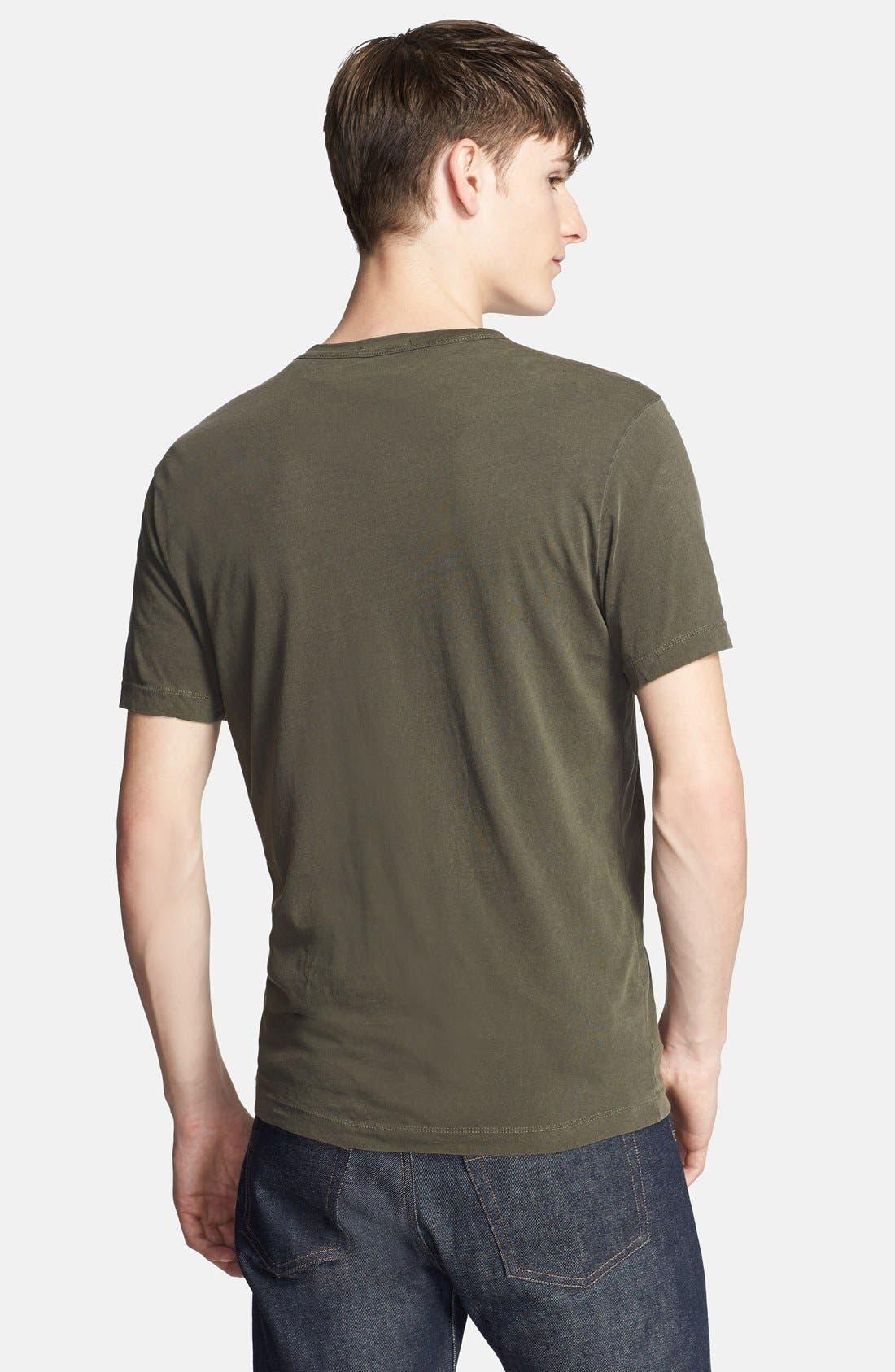 Crewneck Jersey T-Shirt,                             Alternate thumbnail 357, color,