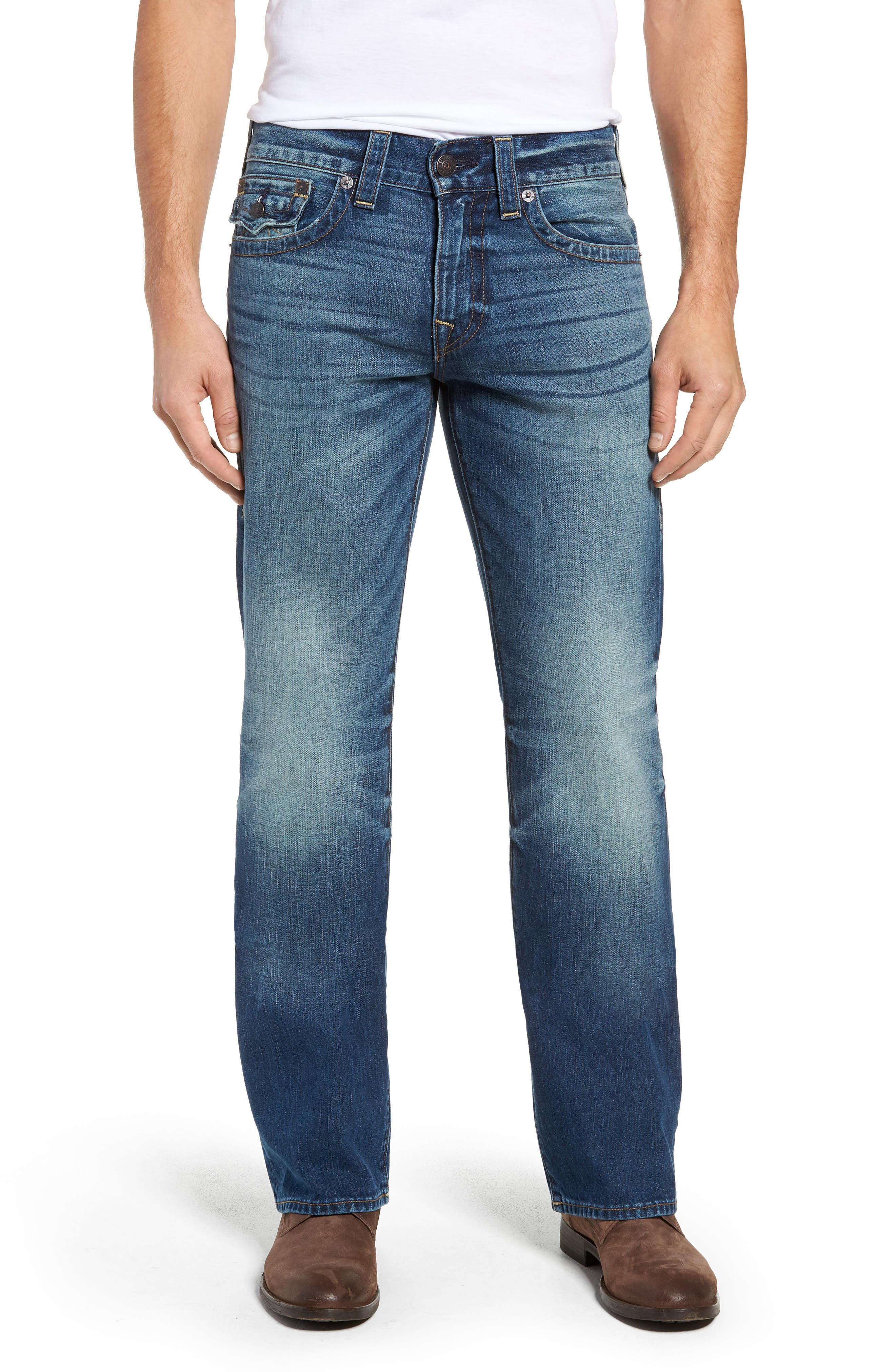 Billy Bootcut Jeans,                         Main,                         color, BLUE REBEL