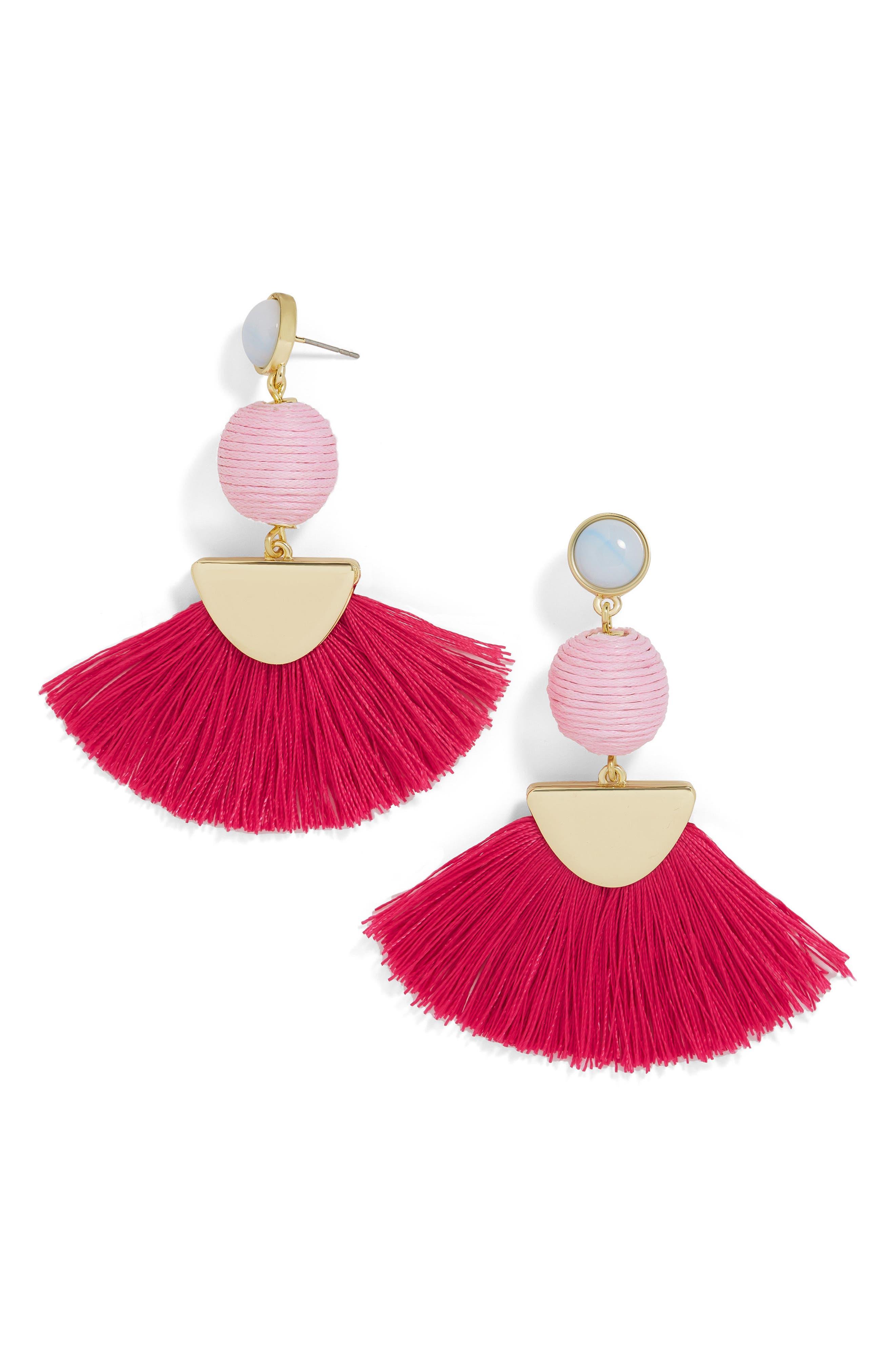 Mamba Fringe Earrings,                             Main thumbnail 2, color,