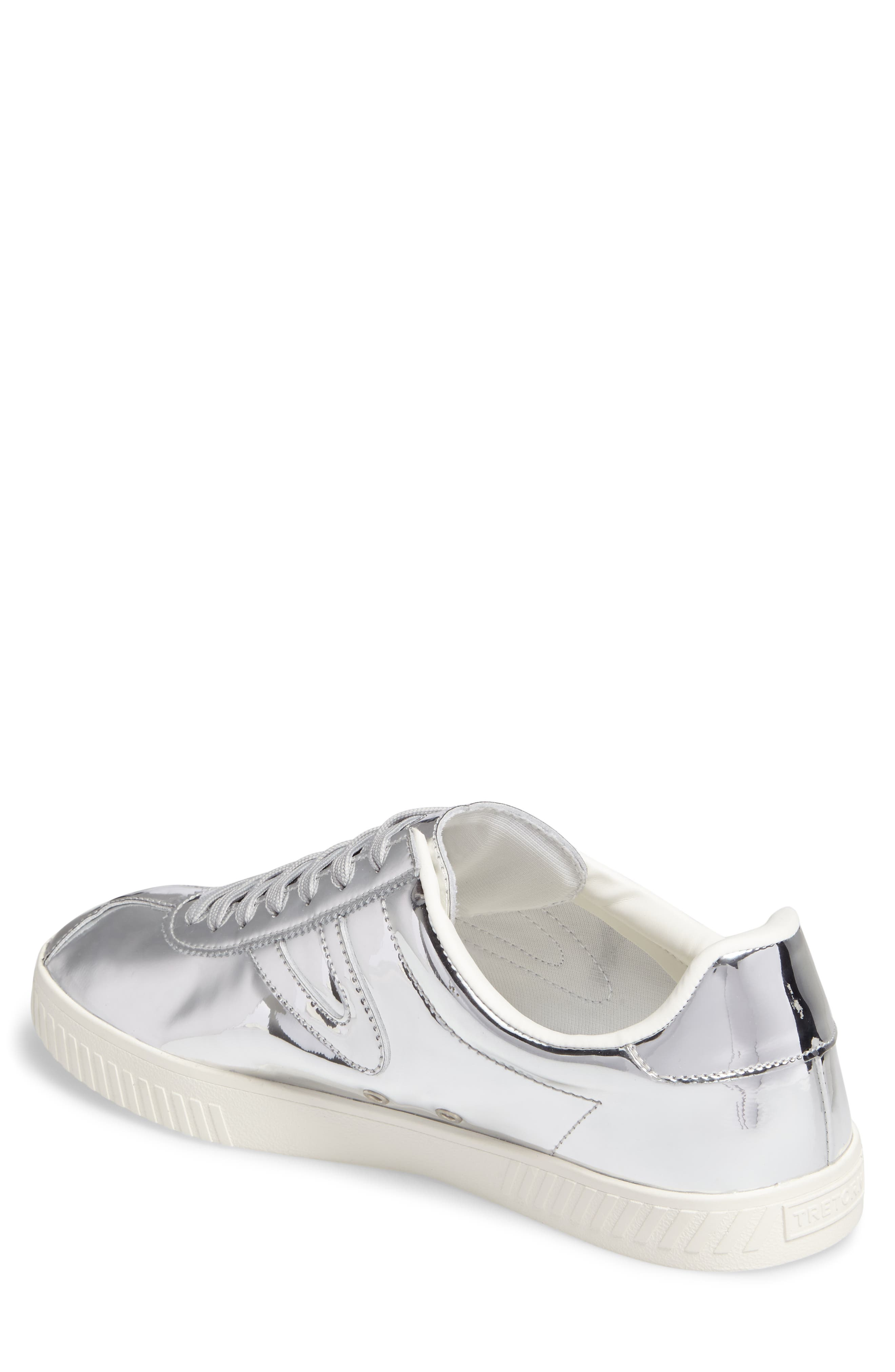 Camden 2 Sneaker,                             Alternate thumbnail 2, color,                             SILVER LEATHER