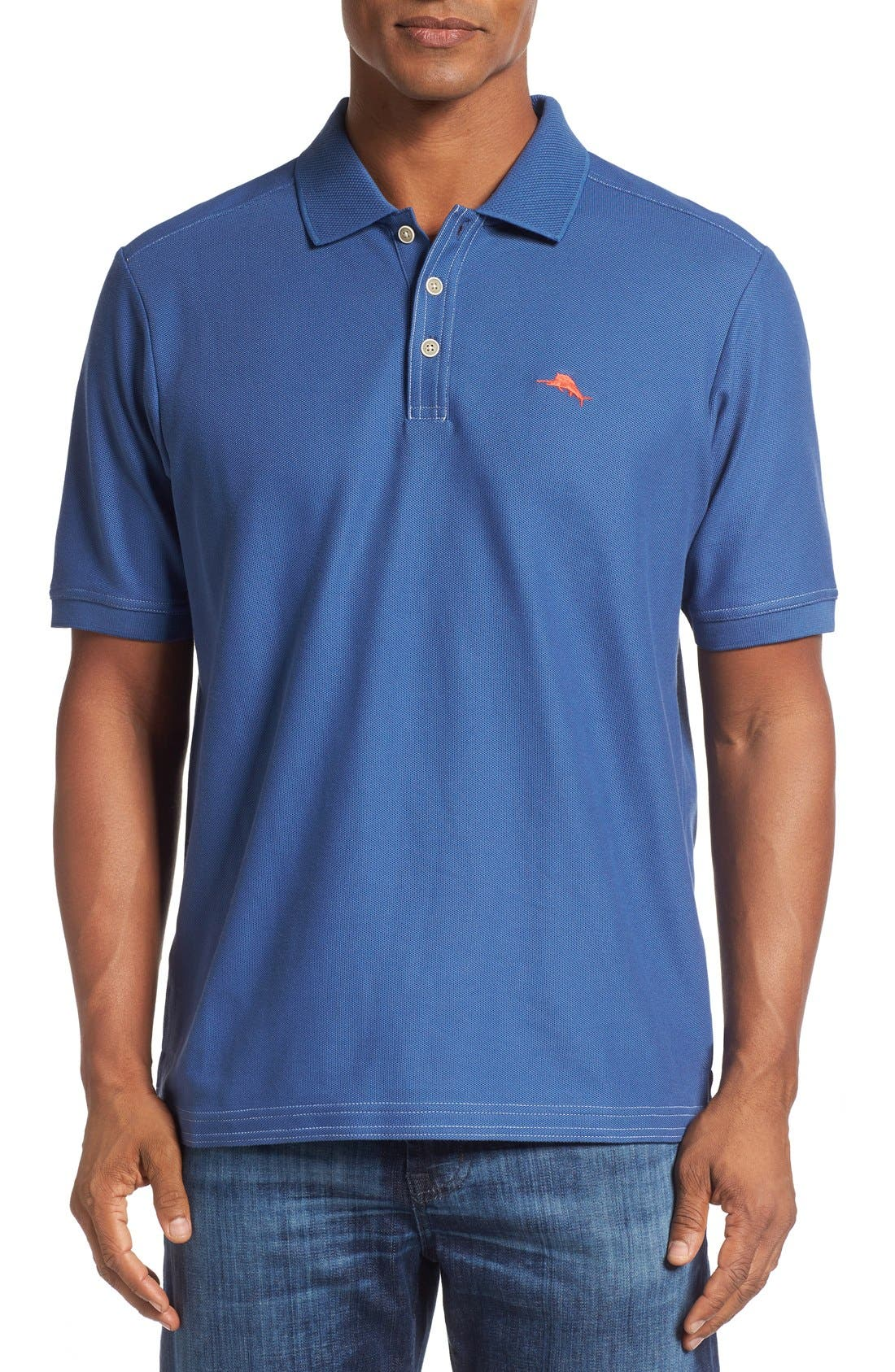 'The Emfielder' Original Fit Piqué Polo,                             Main thumbnail 77, color,