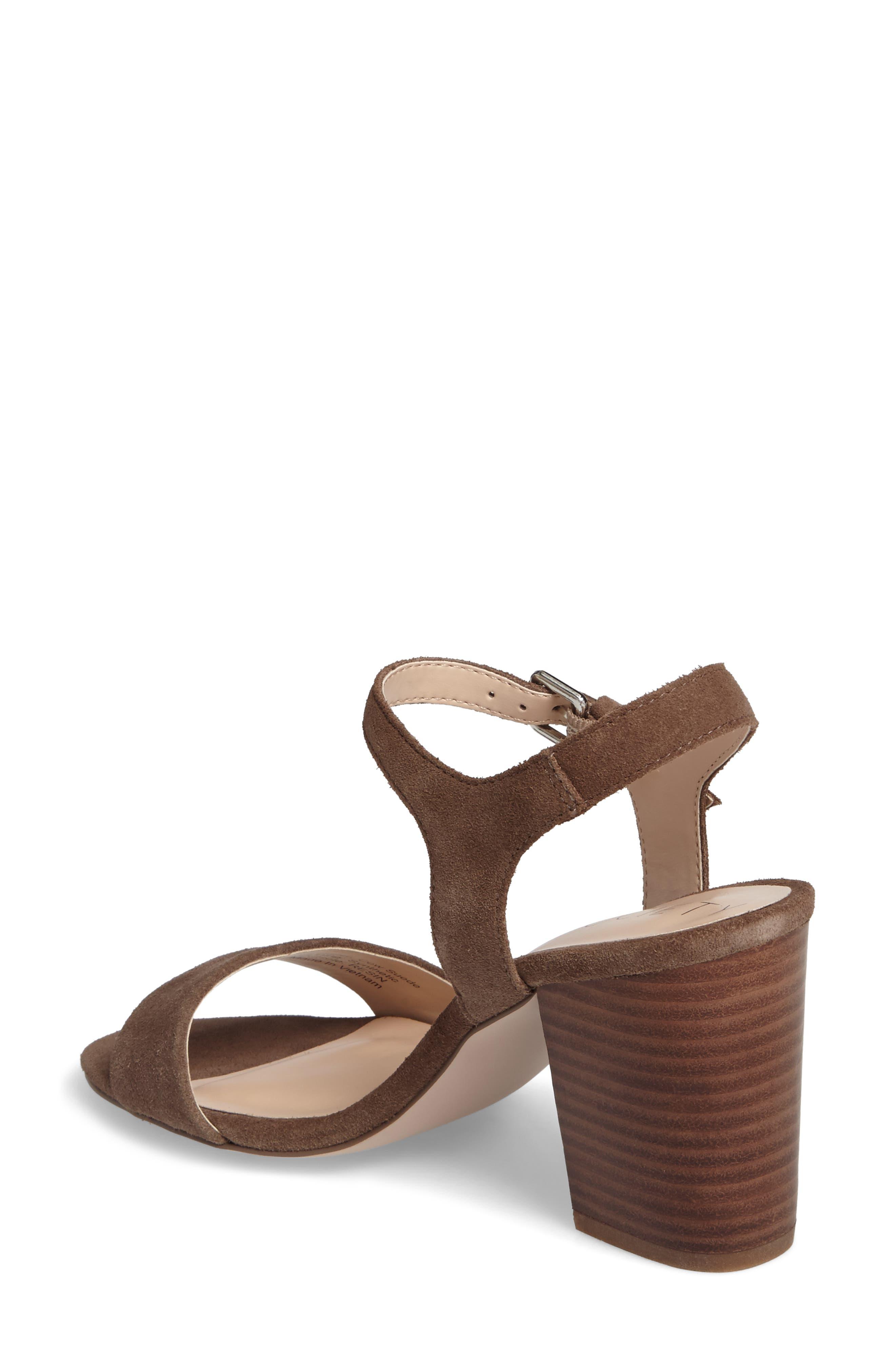 'Linny' Ankle Strap Sandal,                             Alternate thumbnail 7, color,