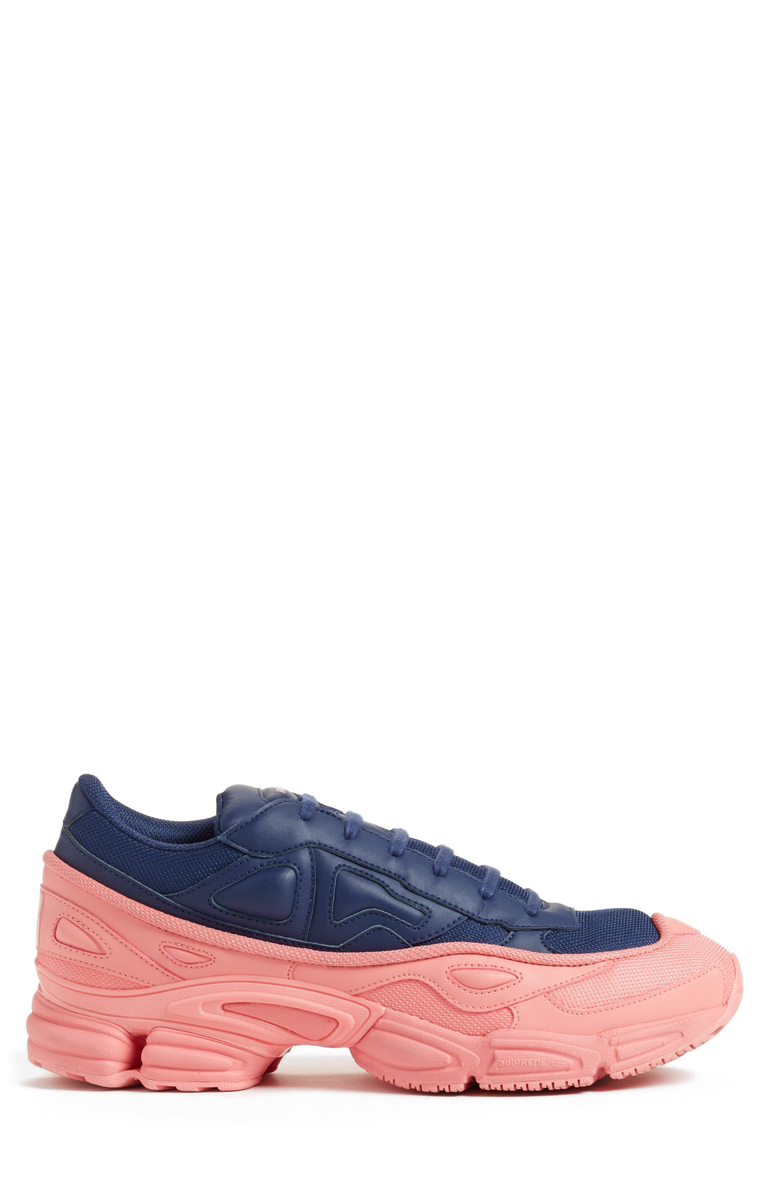 adidas by Raf Simons Ozweego III Sneaker,                             Alternate thumbnail 3, color,                             TACTILE ROSE/ DARK BLUE