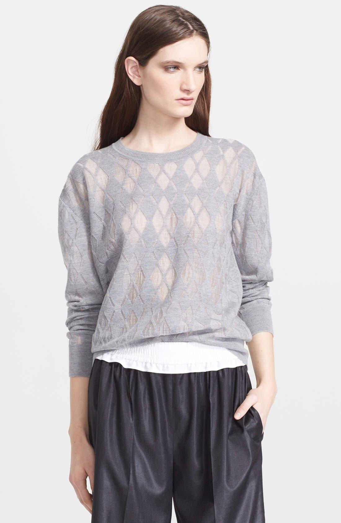 ALEXANDER WANG Argyle Sweater, Main, color, 029