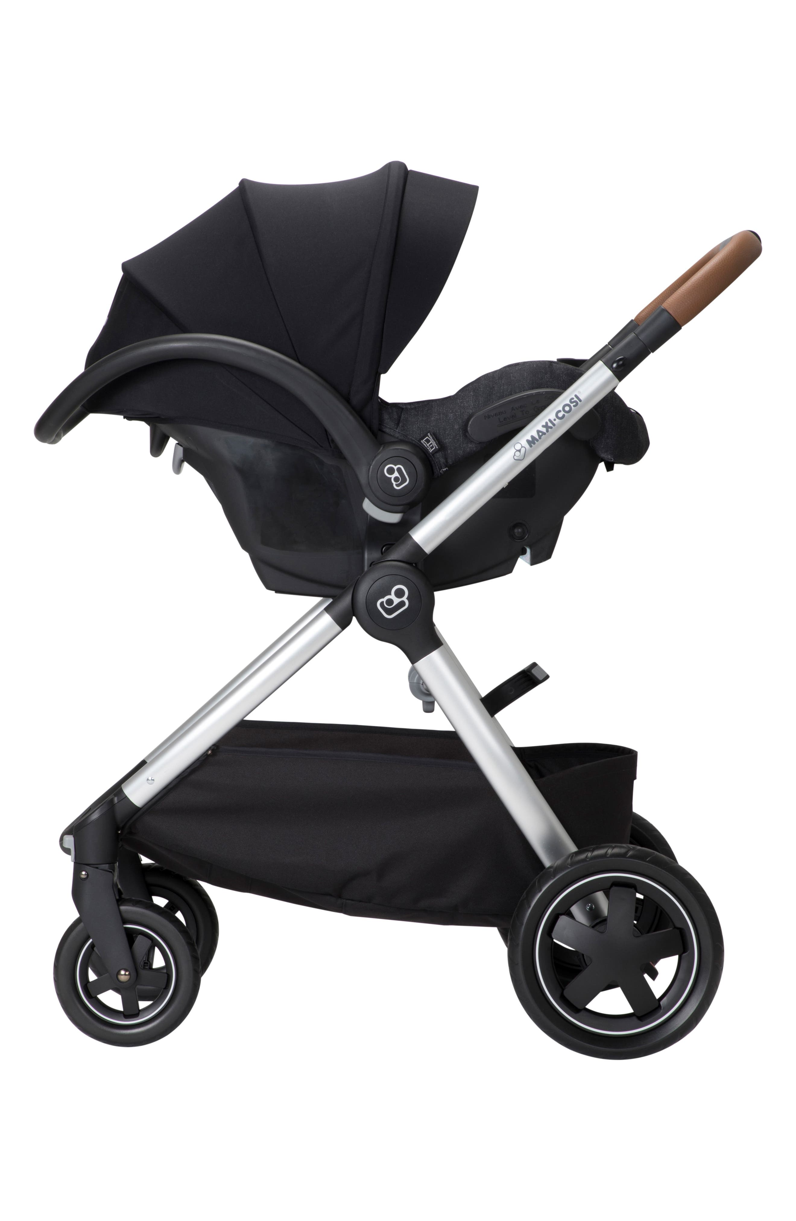 Adorra Nomad Collection Stroller,                             Alternate thumbnail 2, color,                             NIGHT BLACK