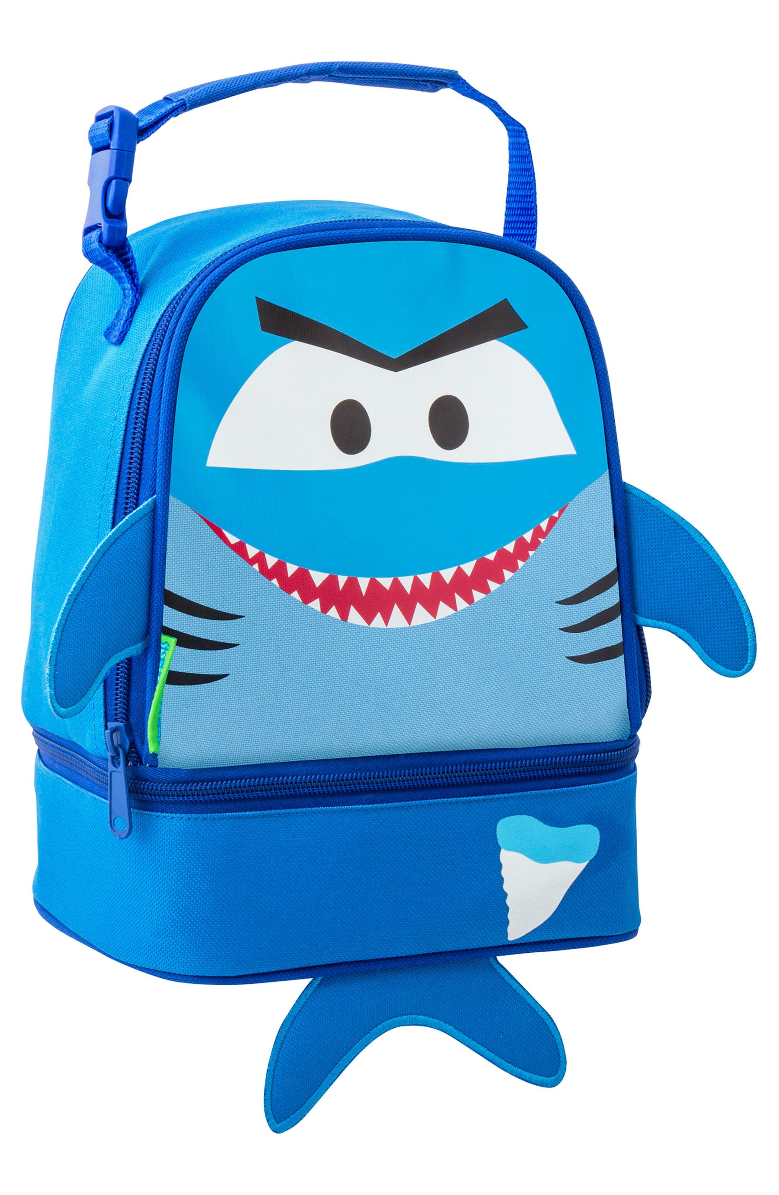 Shark Sidekick Backpack & Lunch Pal,                             Alternate thumbnail 7, color,                             SHARK