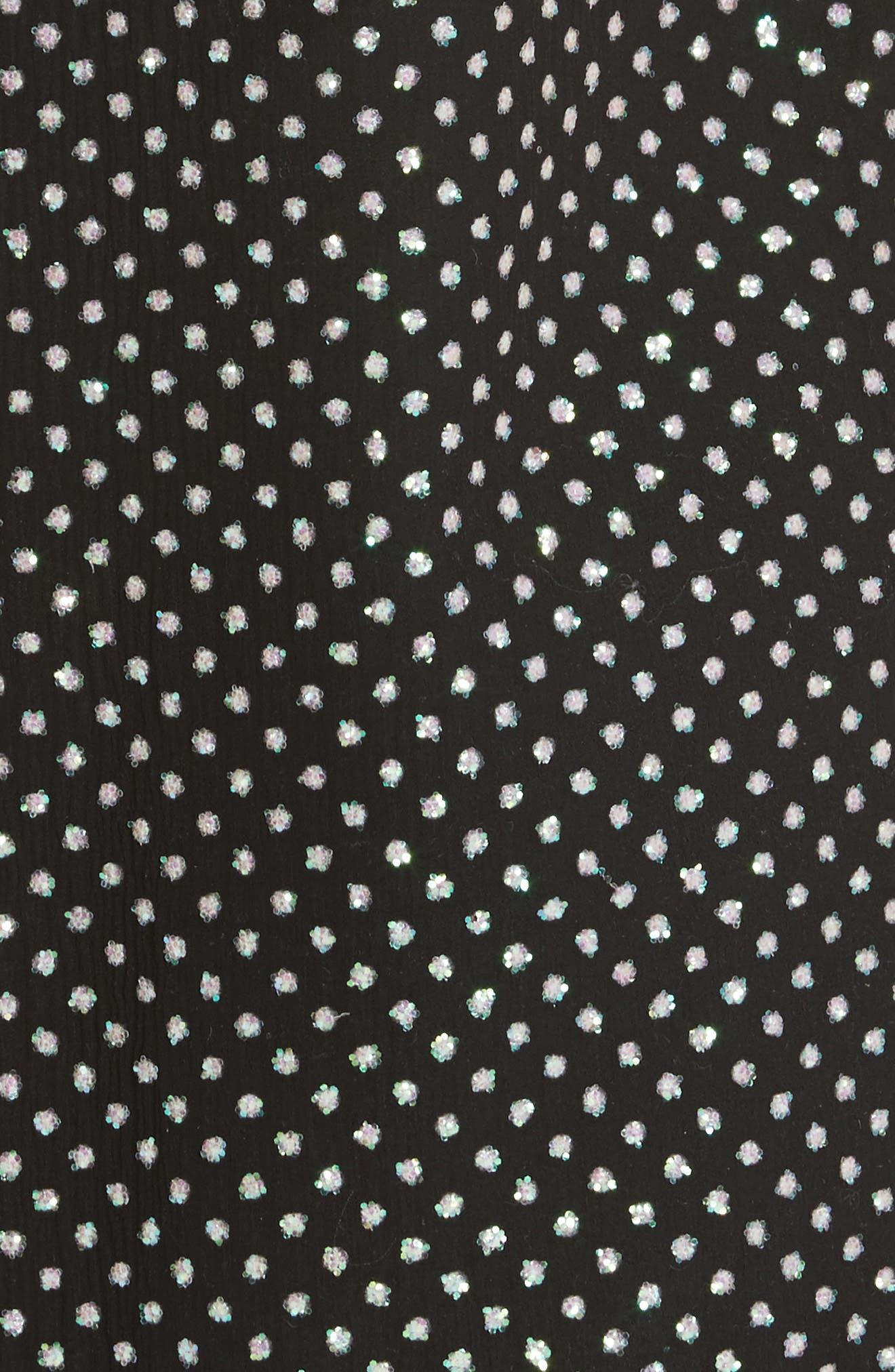 Creponne T-Shirt Dress,                             Alternate thumbnail 5, color,