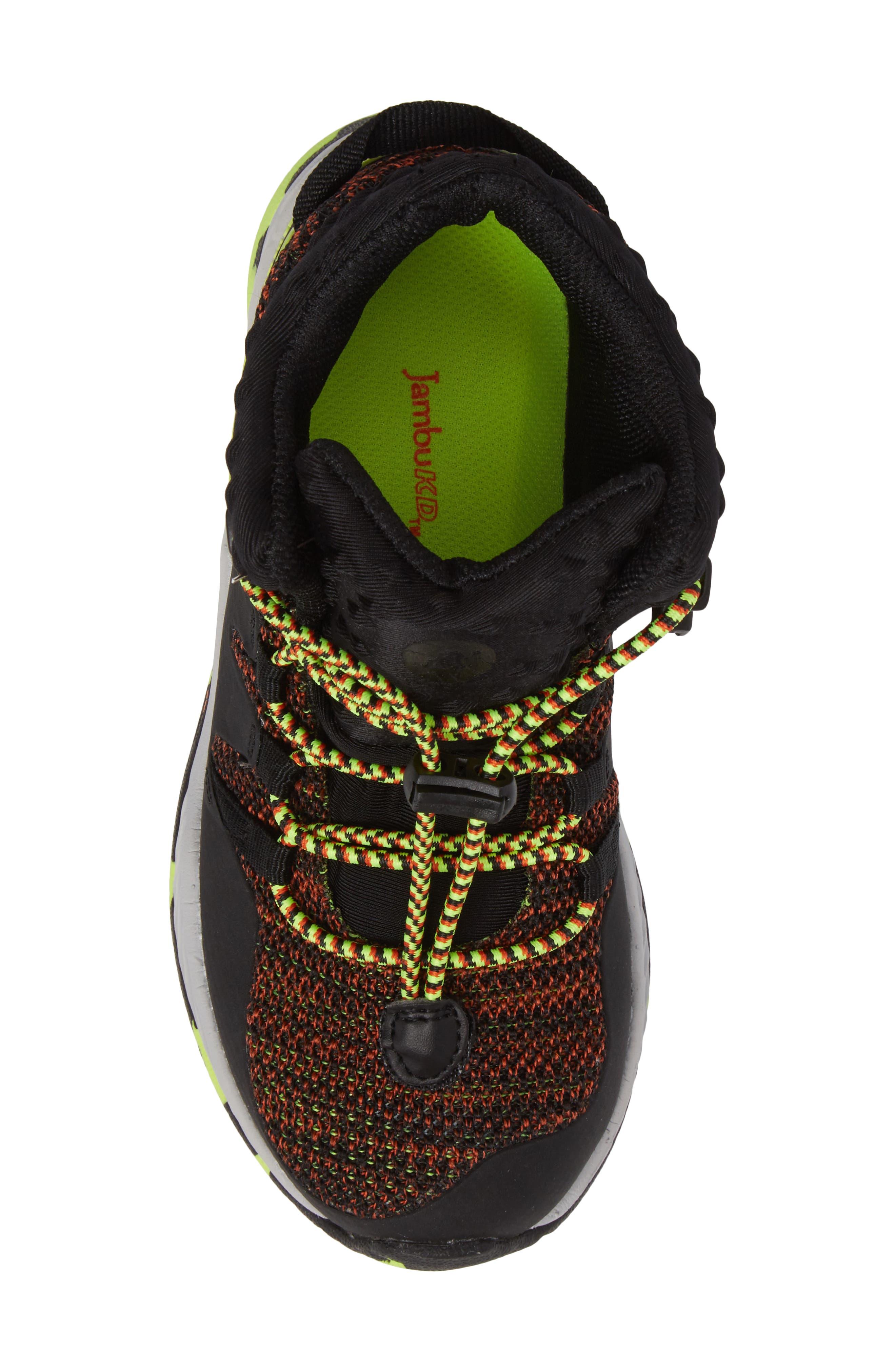 Armadillo Sneaker Boot,                             Alternate thumbnail 5, color,                             001