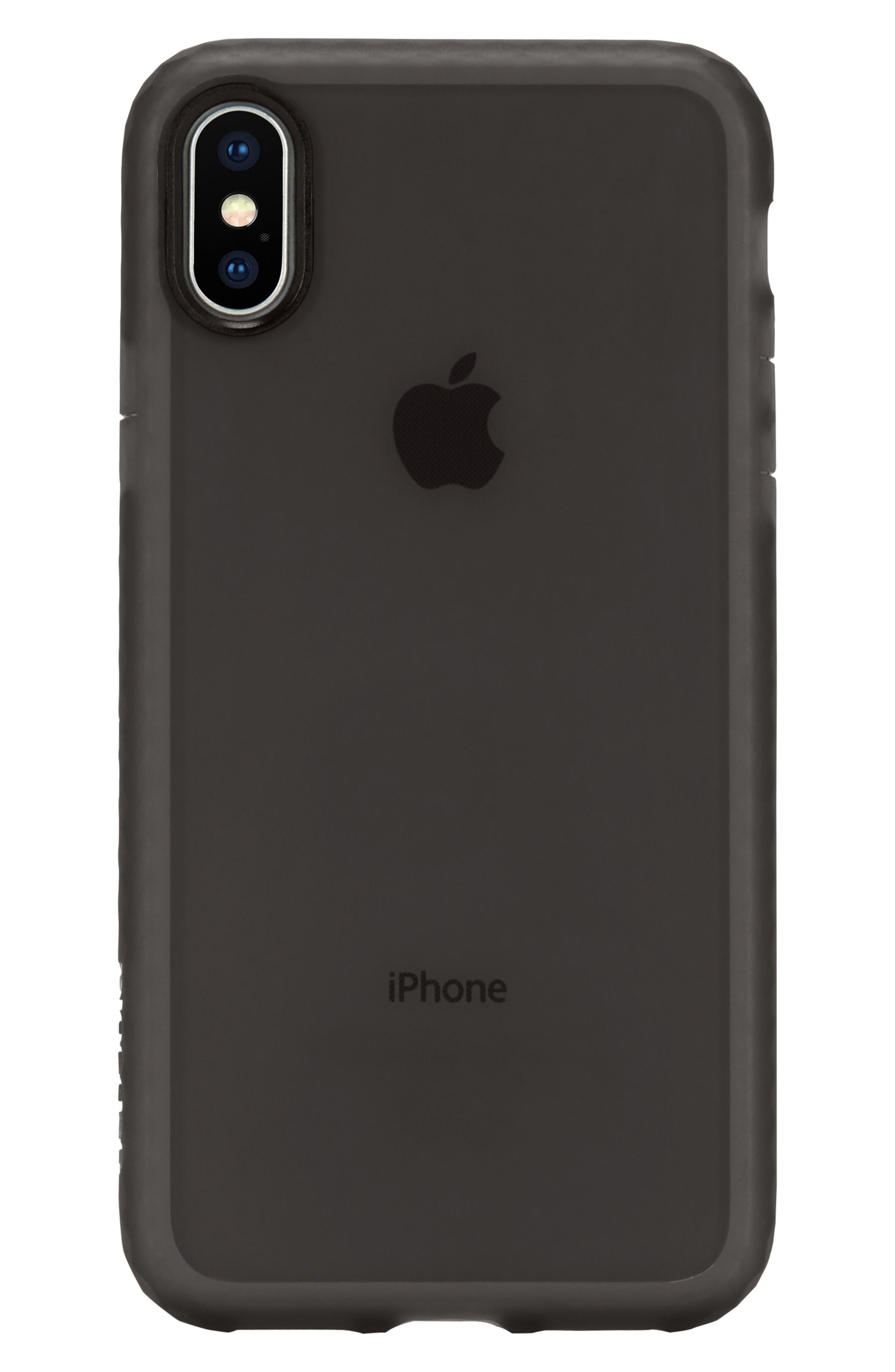 Protective Lattice iPhone X Case,                             Alternate thumbnail 4, color,                             001