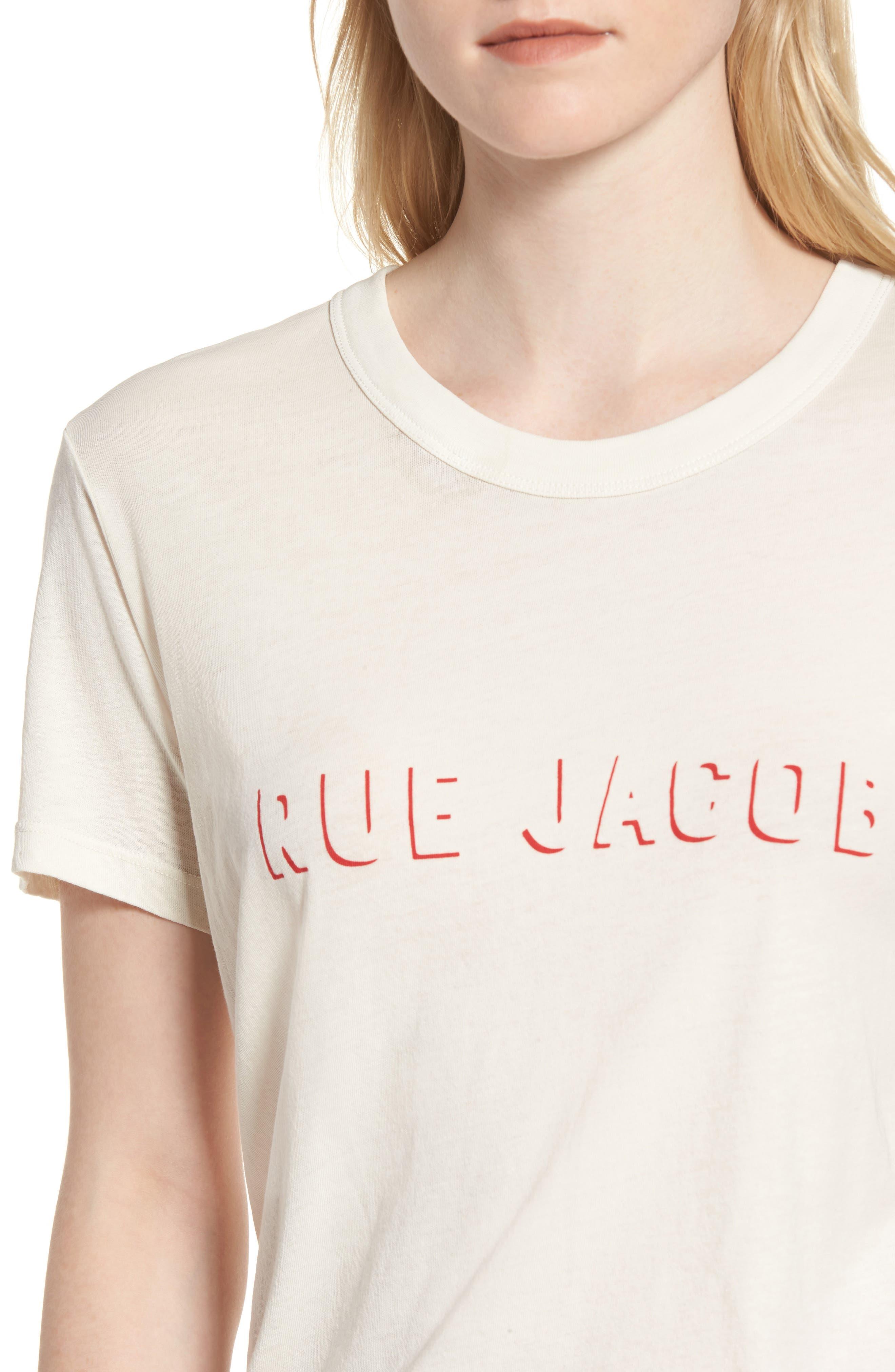 Rue Jacob Tee,                             Alternate thumbnail 4, color,                             900