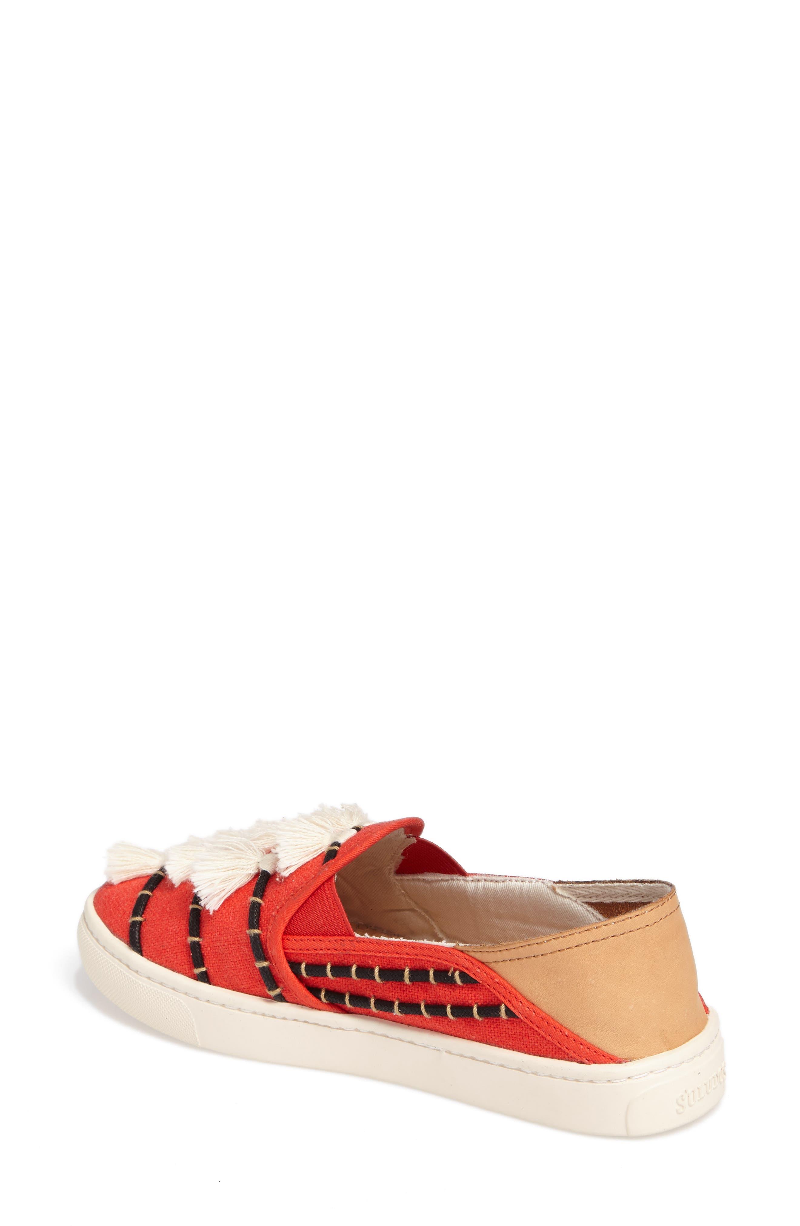 Tassel Slip-On Sneaker,                             Alternate thumbnail 2, color,                             603