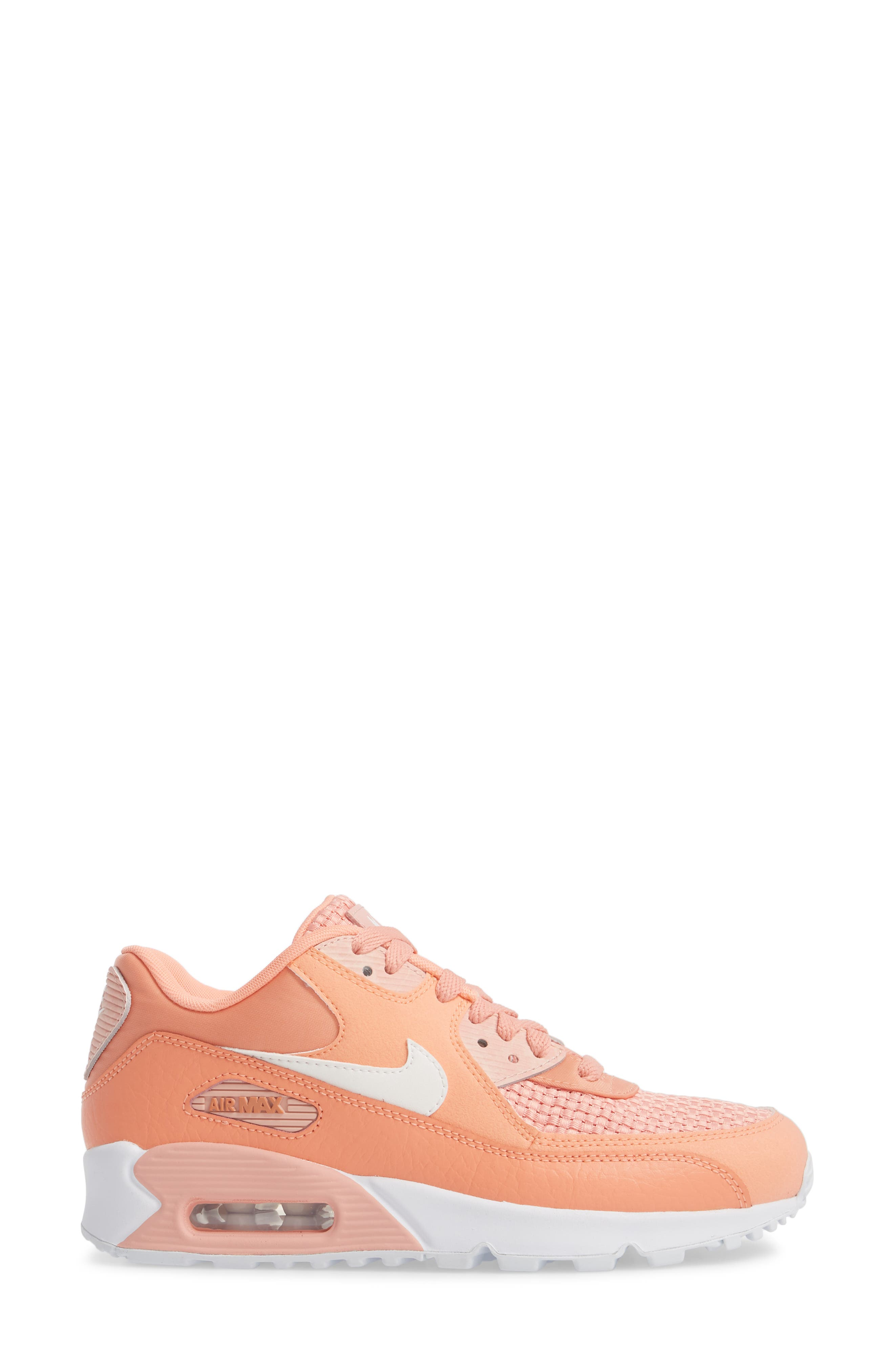 Air Max 90 SE Sneaker,                             Alternate thumbnail 21, color,